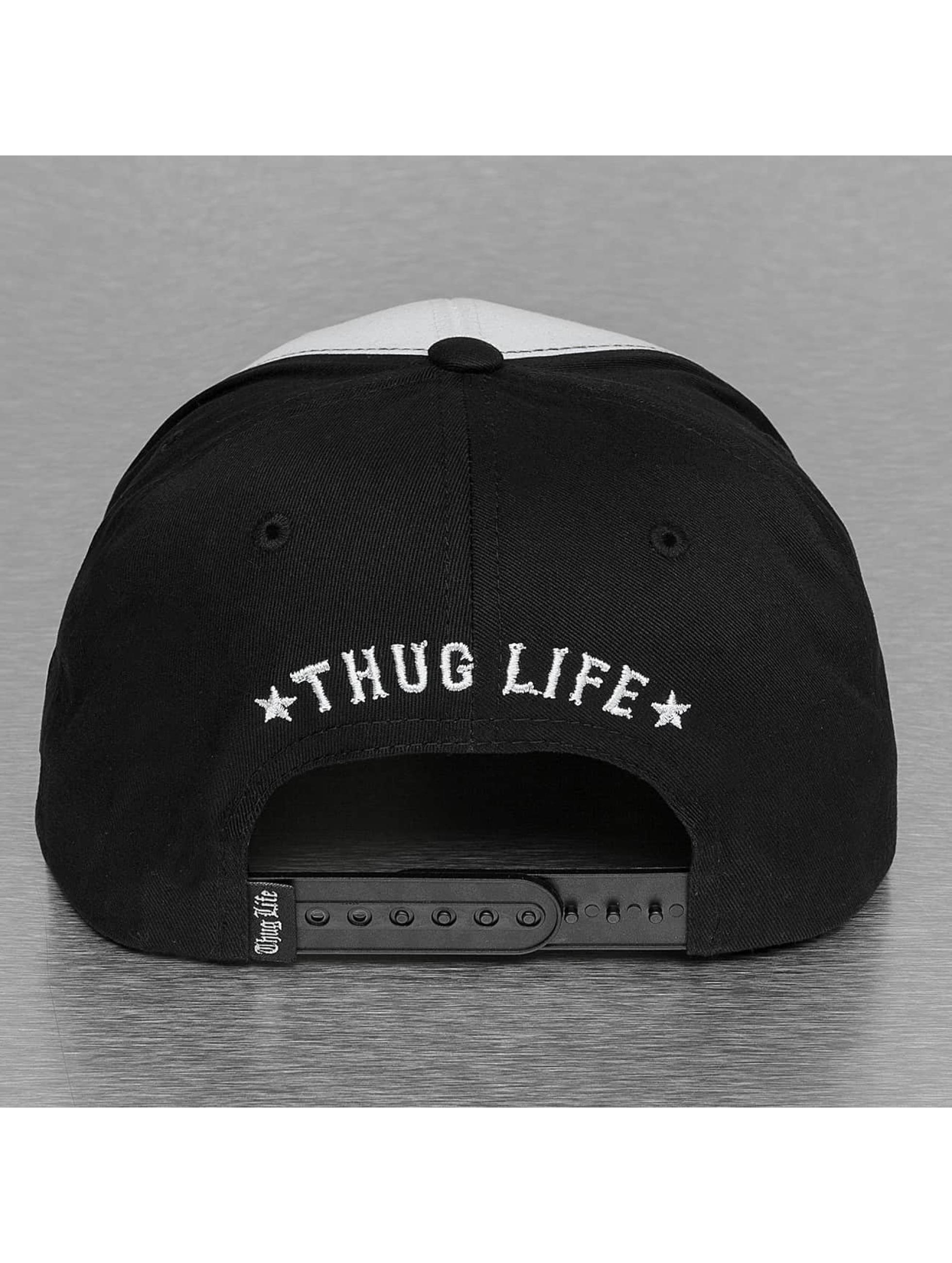 Thug Life Snapback Cap Scully schwarz