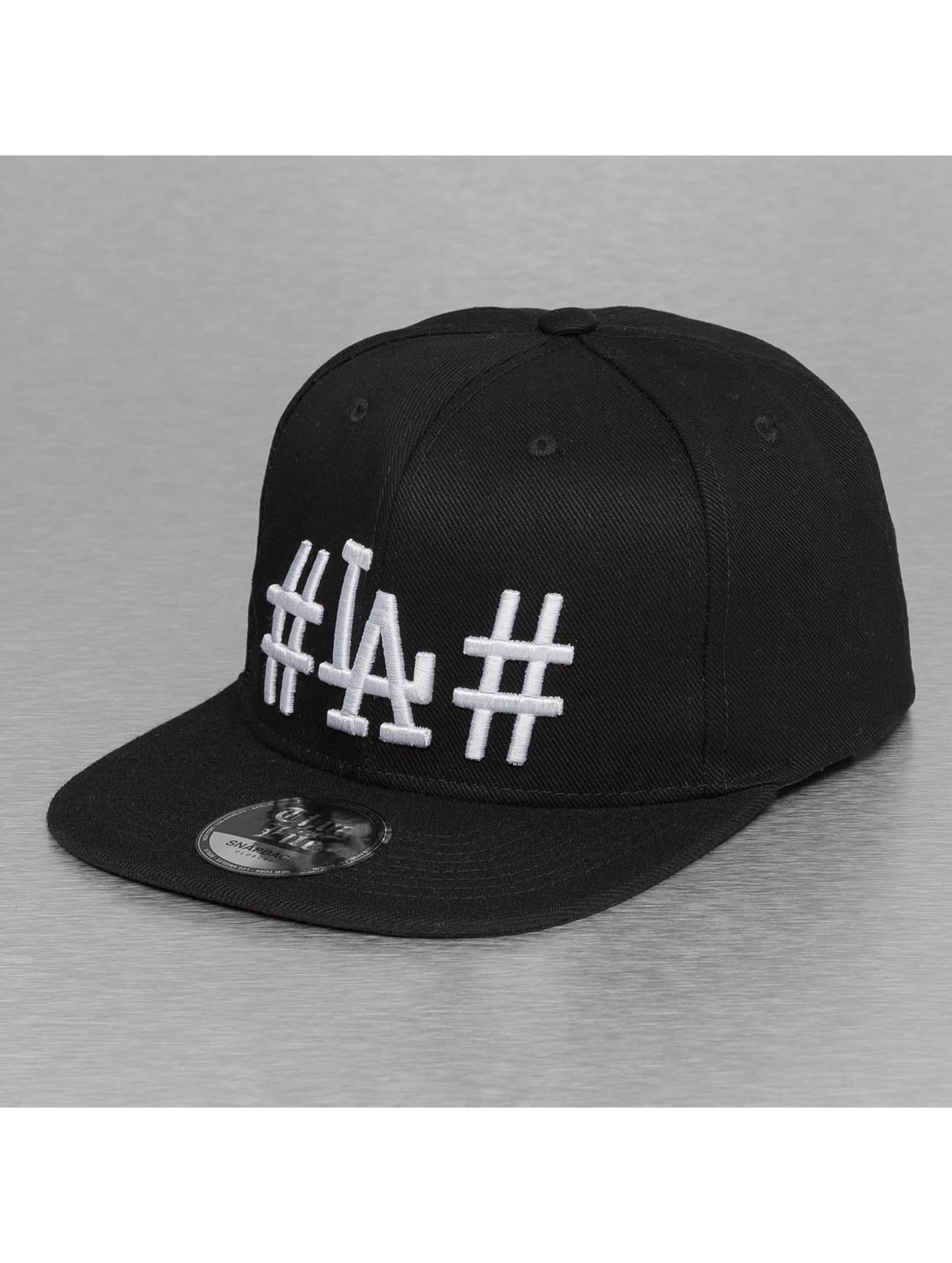 Thug Life Snapback Caps LA czarny