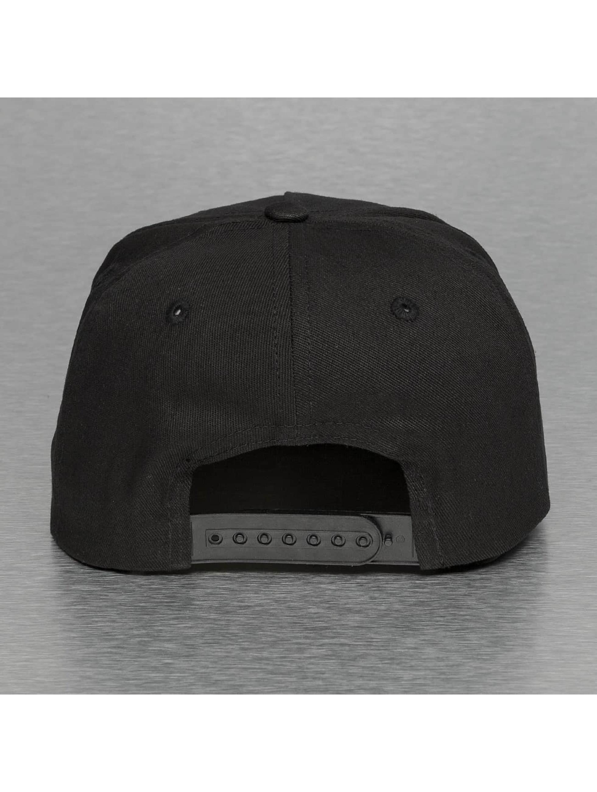 Thug Life Snapback Caps Bompton czarny