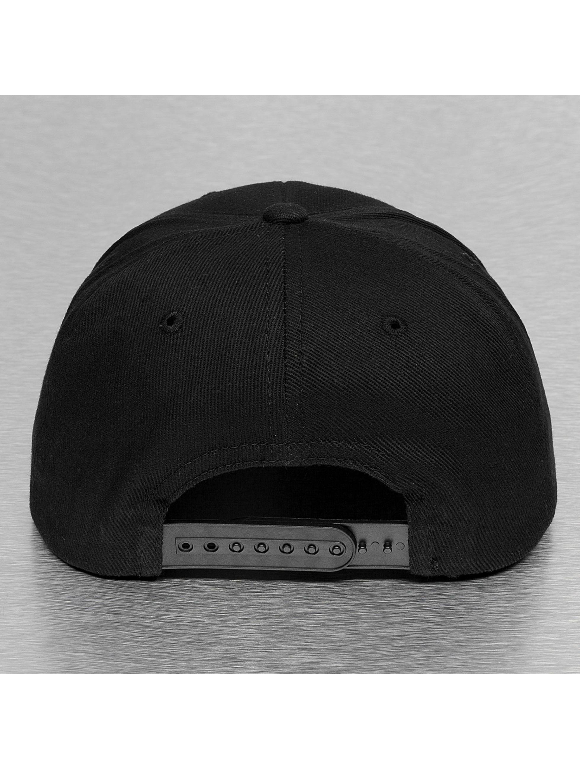 Thug Life Snapback Caps en Logo musta
