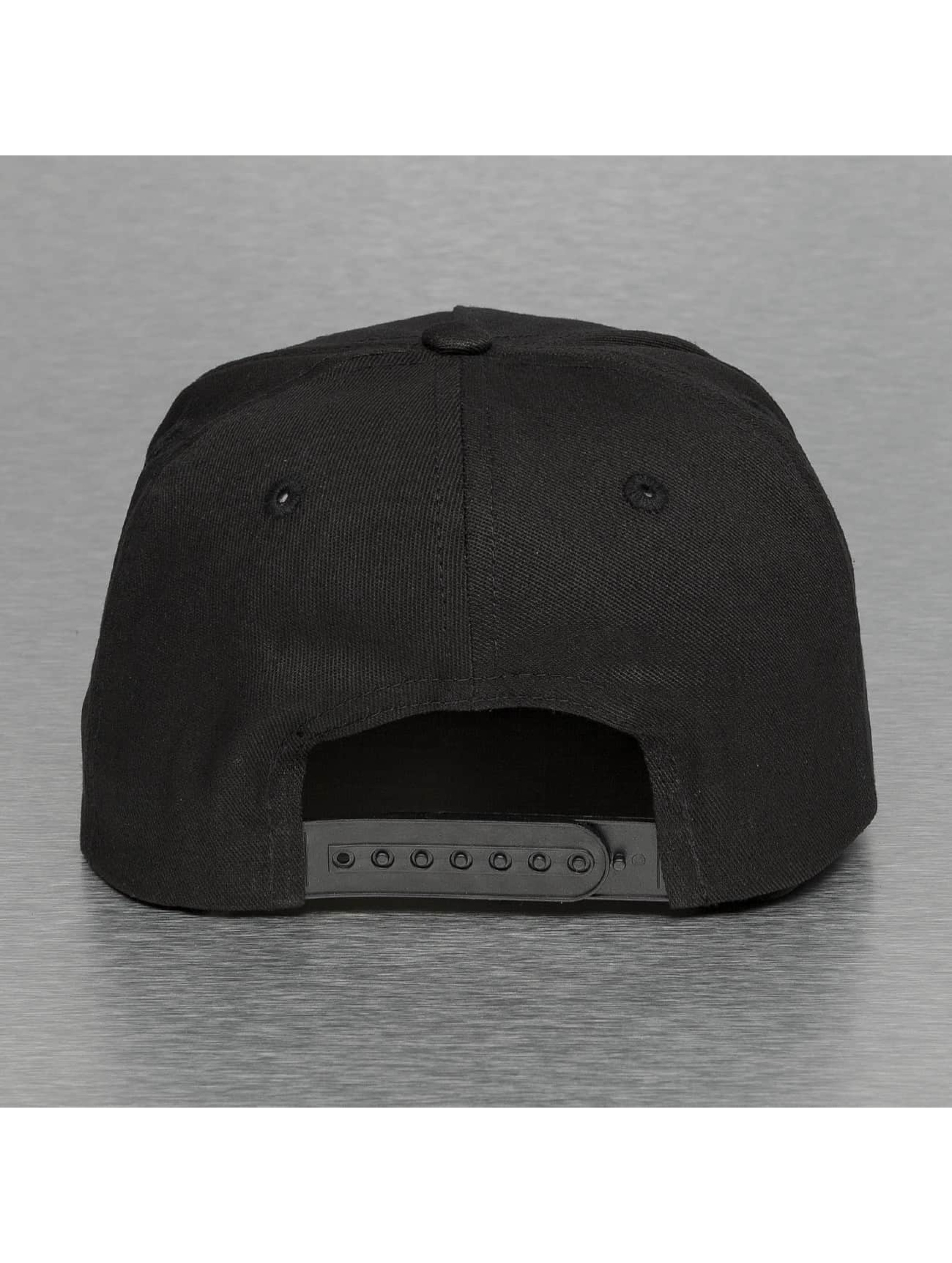 Thug Life Snapback Caps Bompton svart