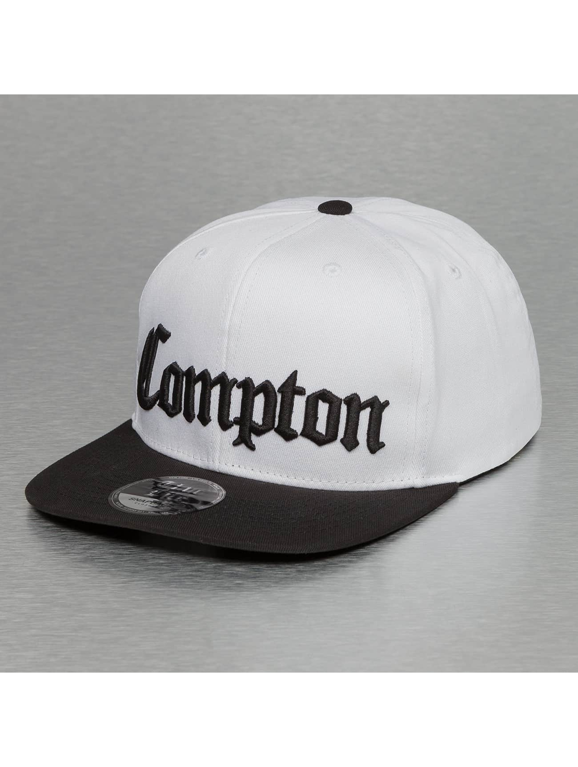 Thug Life Snapback Caps Compton valkoinen