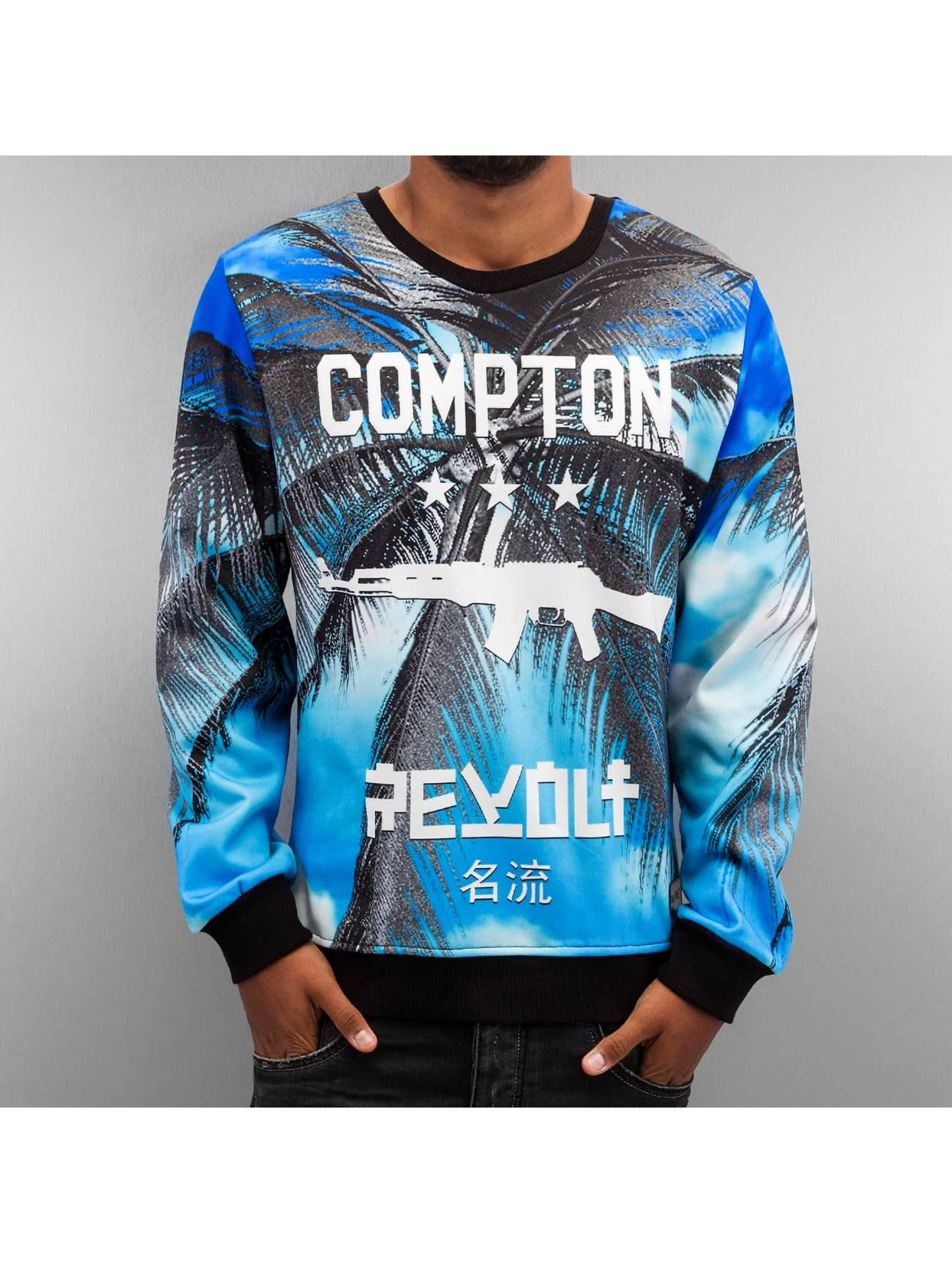 Thug Life Sweat & Pull Compton bleu