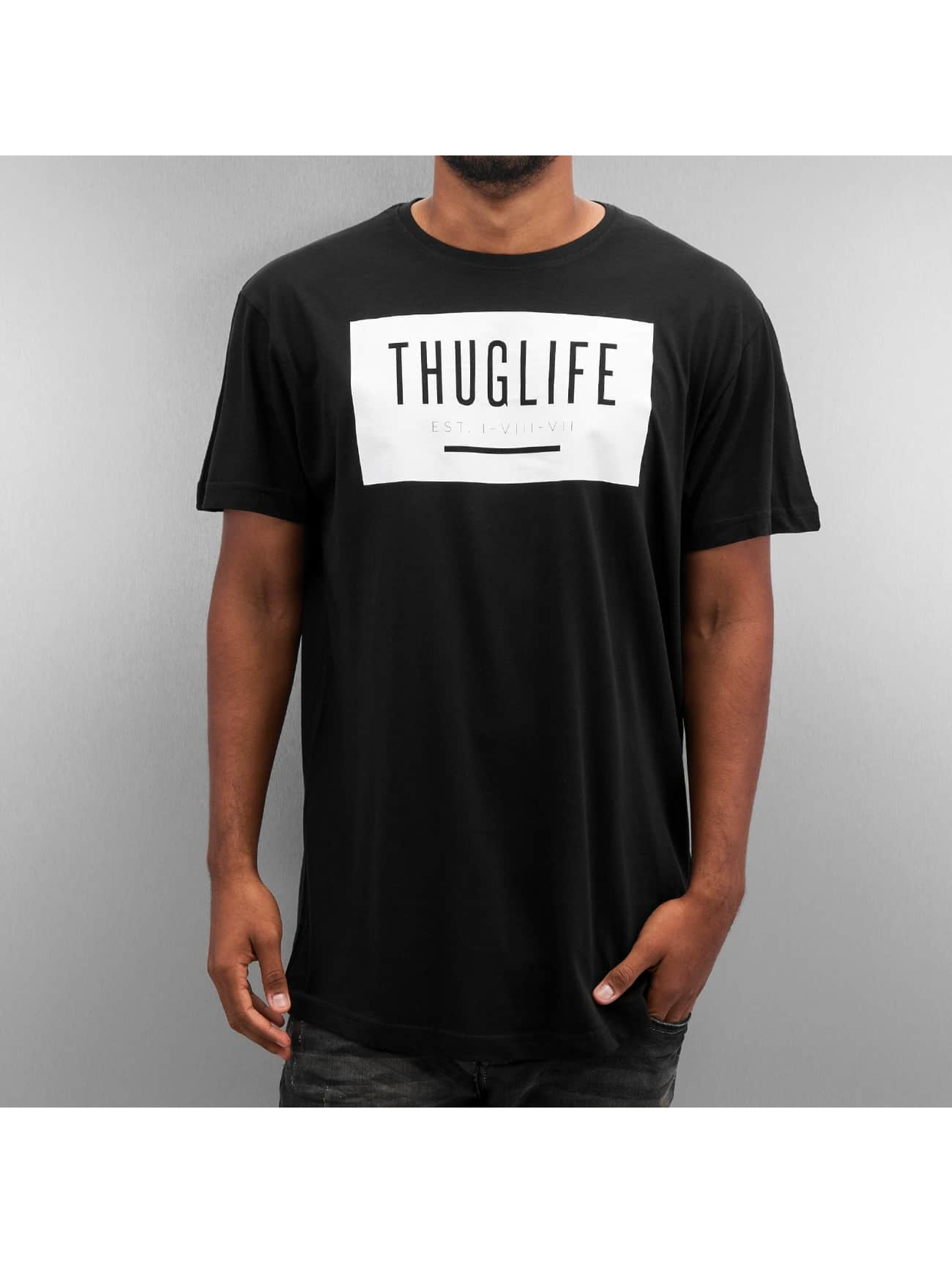 Thug Life T-paidat Basic musta