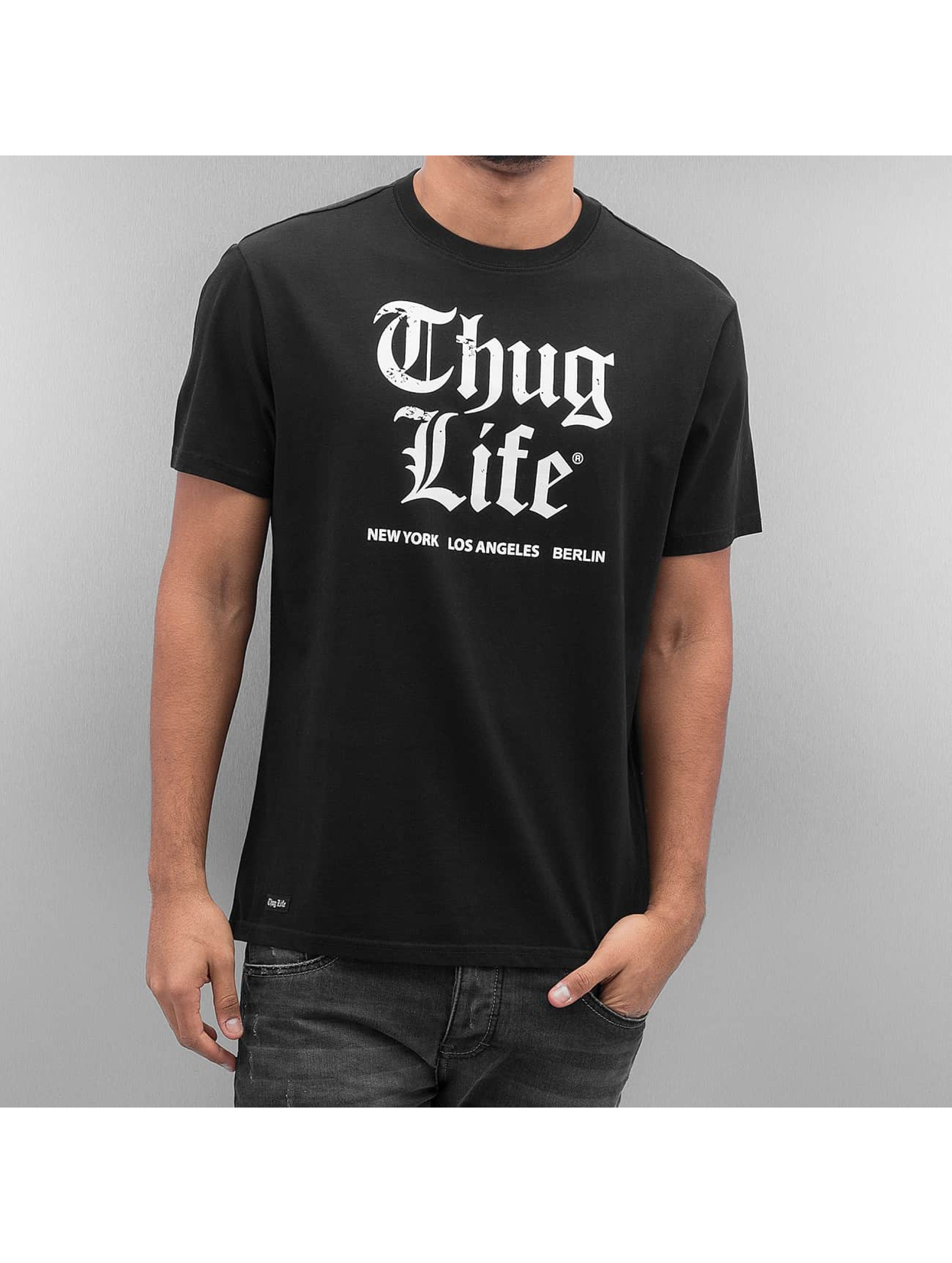 Thug Life T-Shirt Deadking black