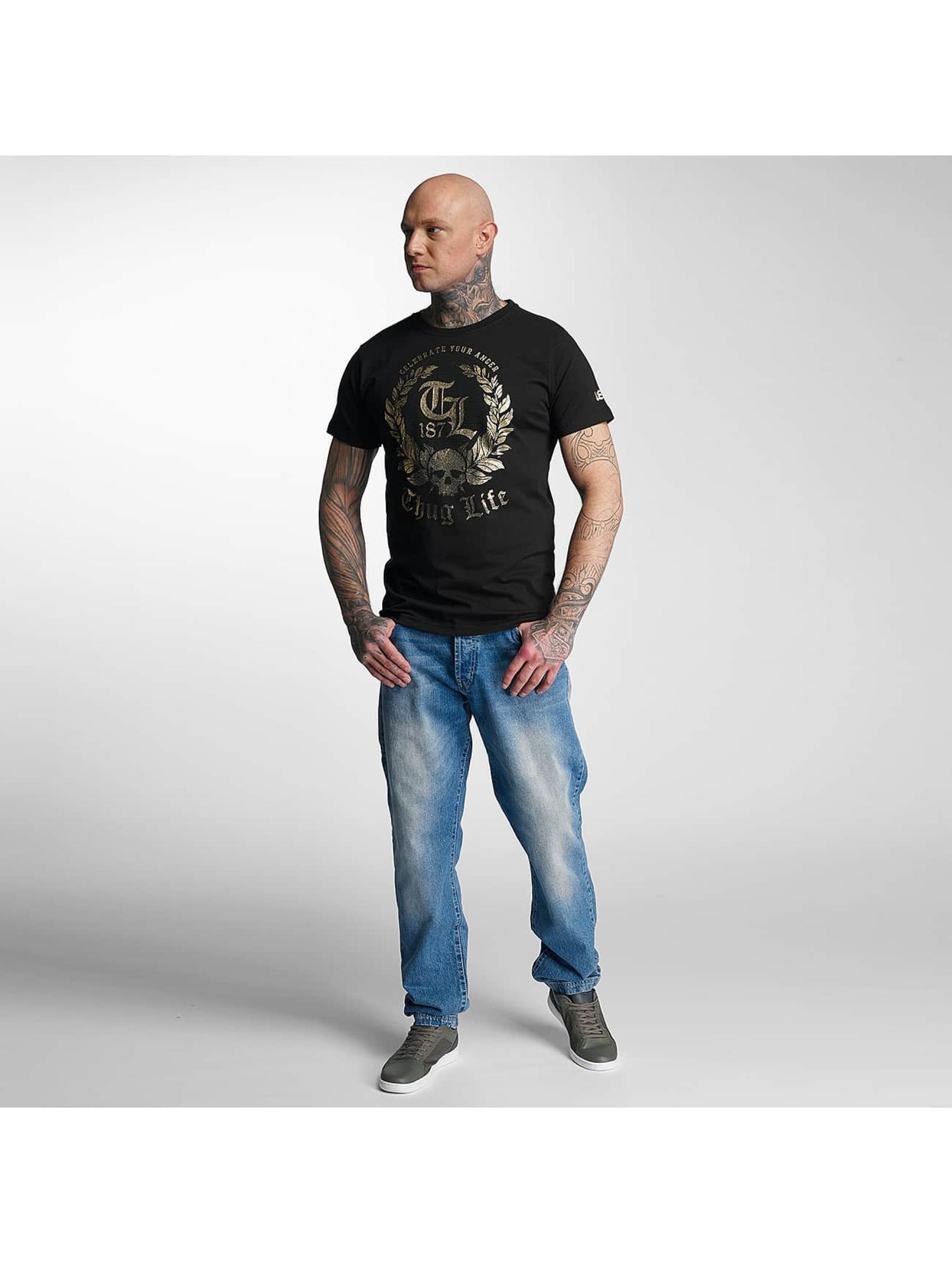 Thug Life T-Shirt Celebrate black