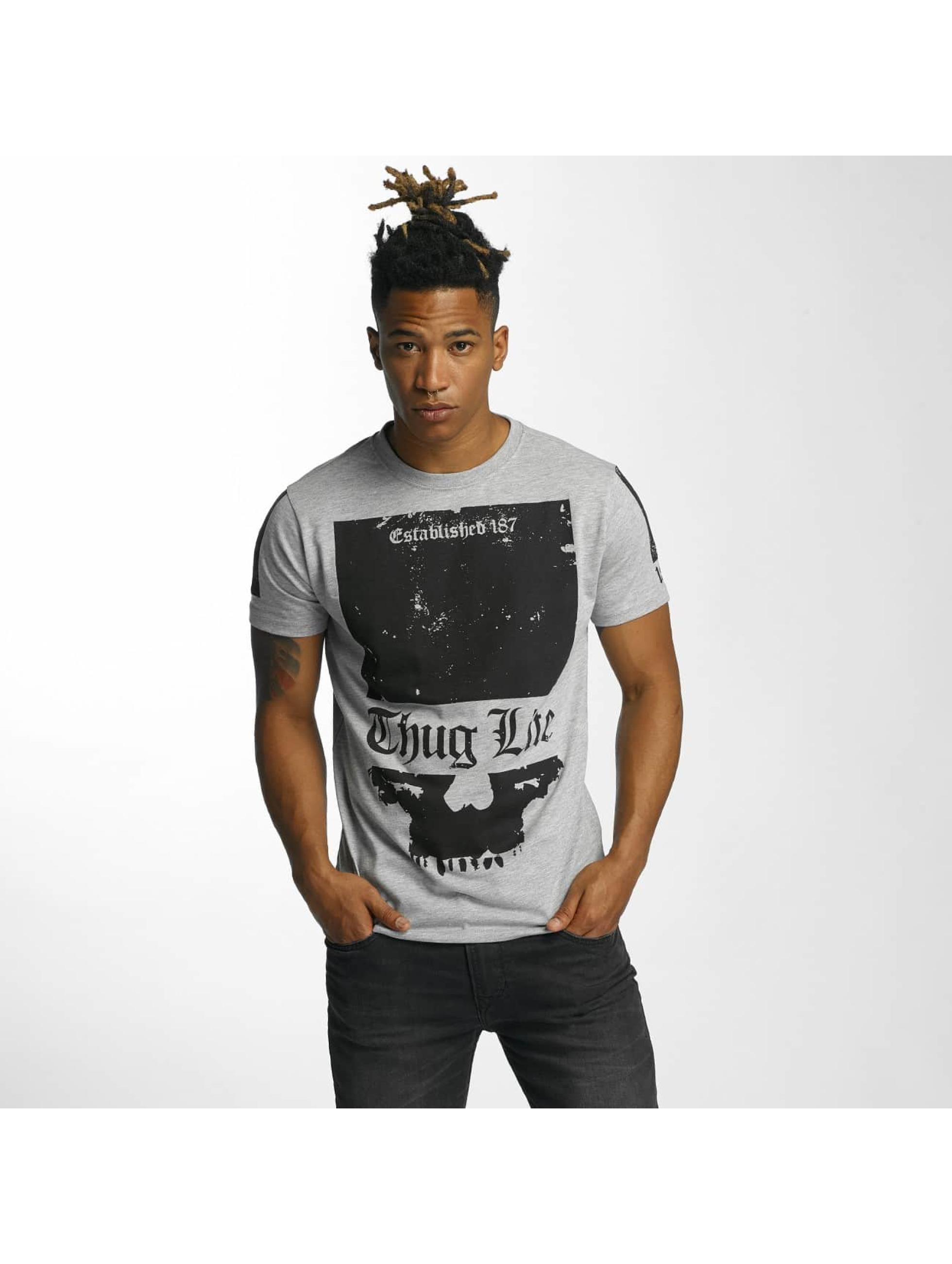 Thug Life T-Shirt Blind gray