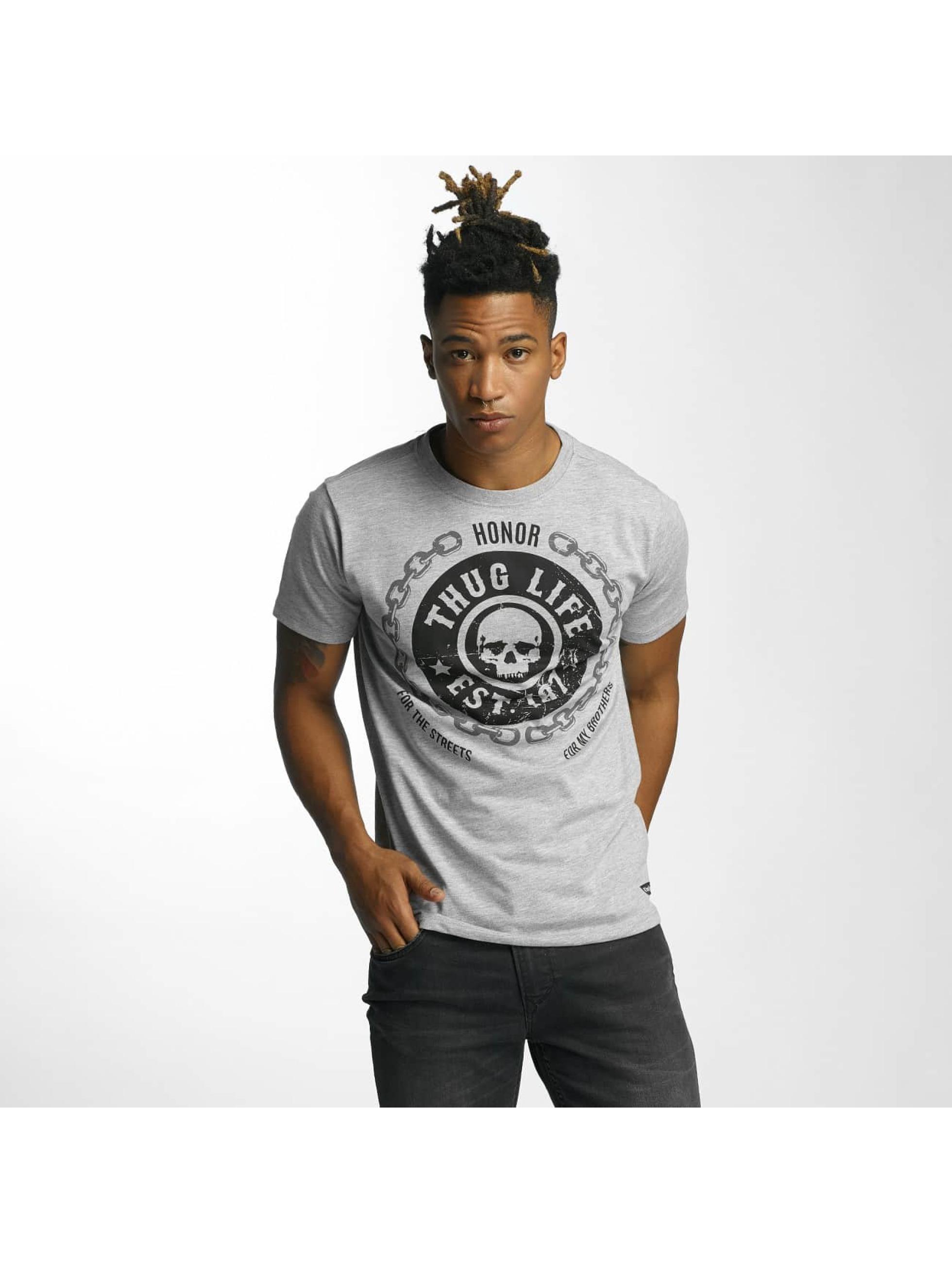 Thug Life T-Shirt Barley gray