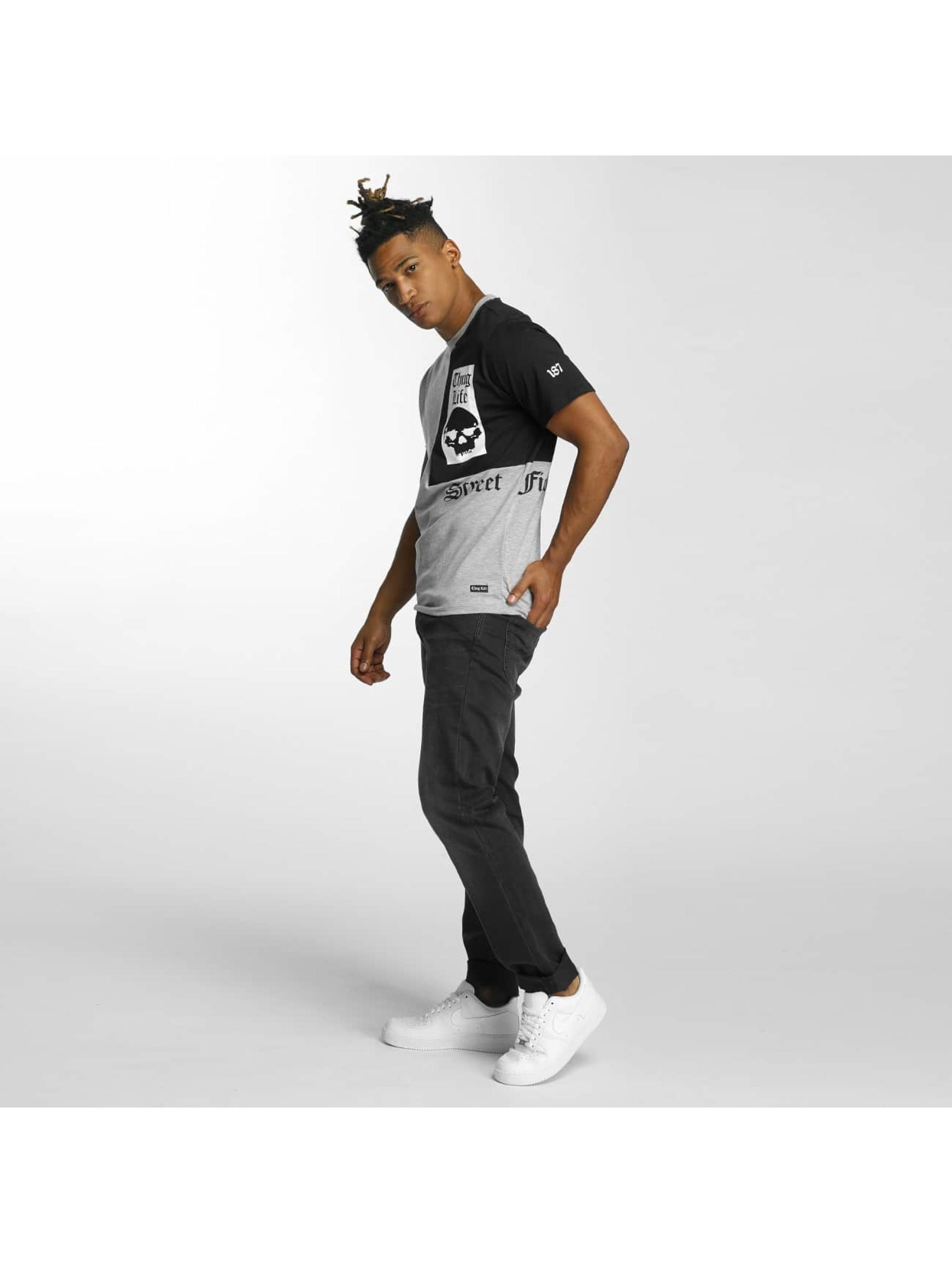 Thug Life T-Shirt Qube gray