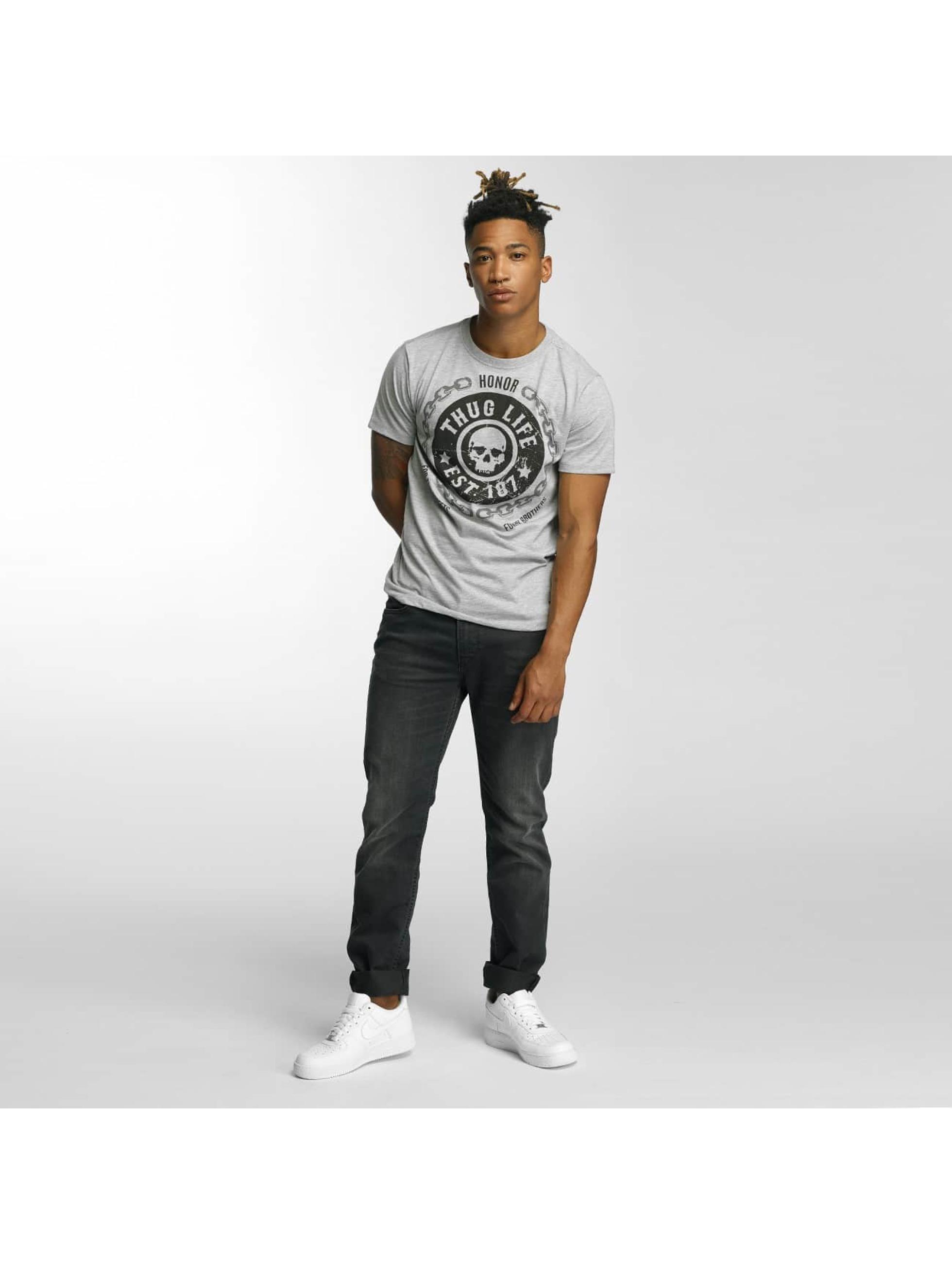 Thug Life T-Shirt Barley grey