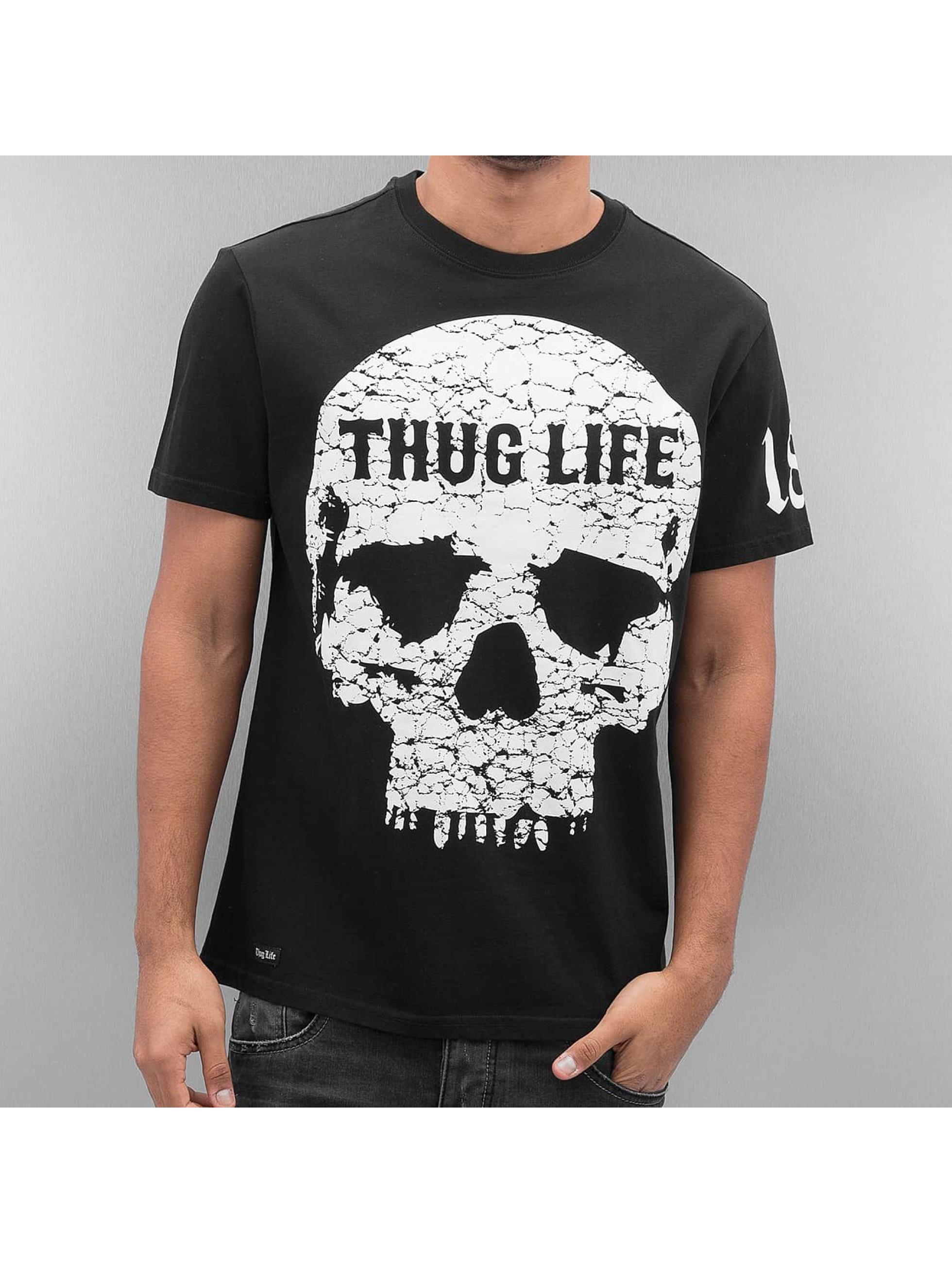 Thug Life T-Shirt Thugstyle schwarz
