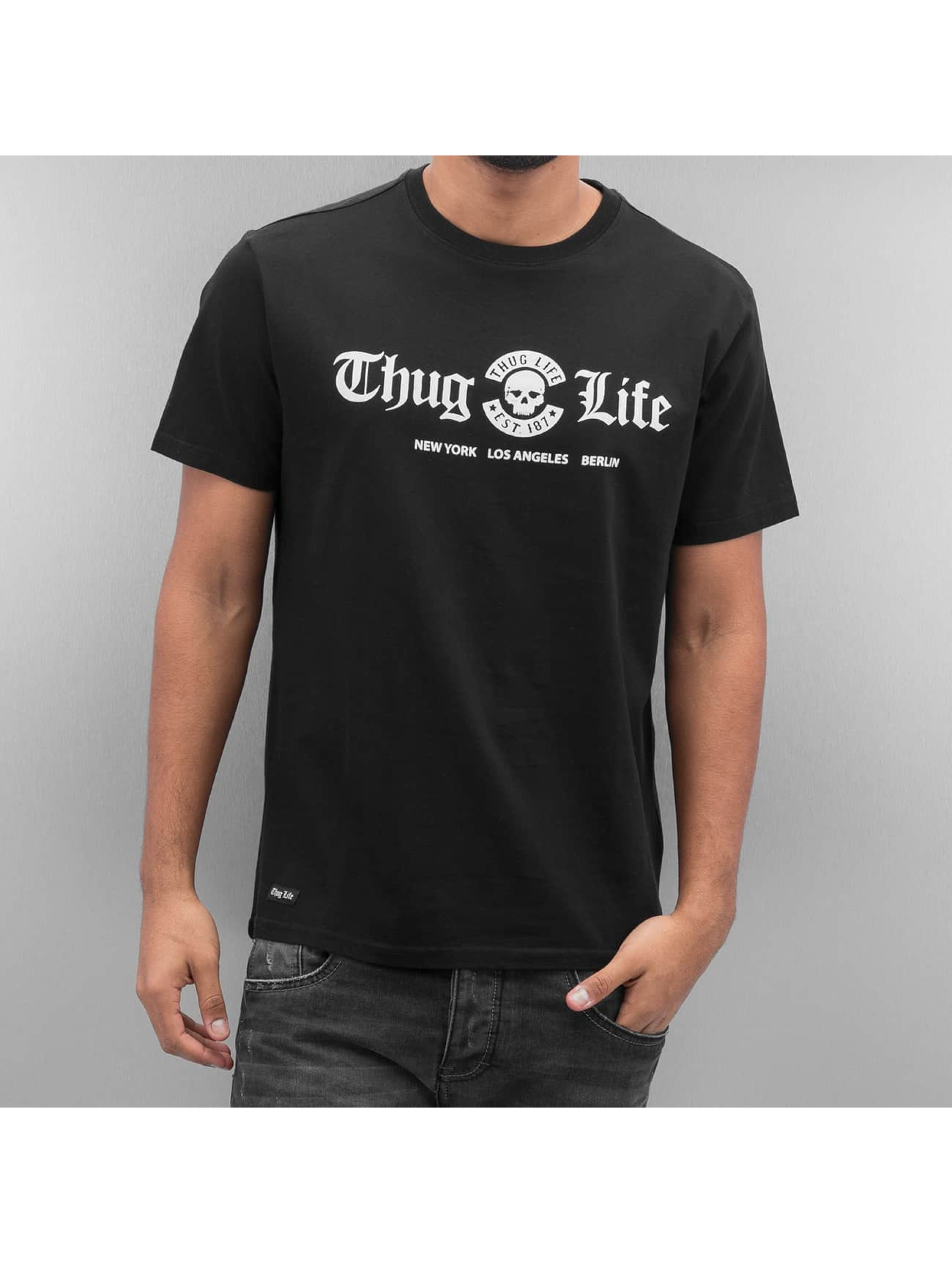 Thug Life T-Shirt Ghetto Boys schwarz