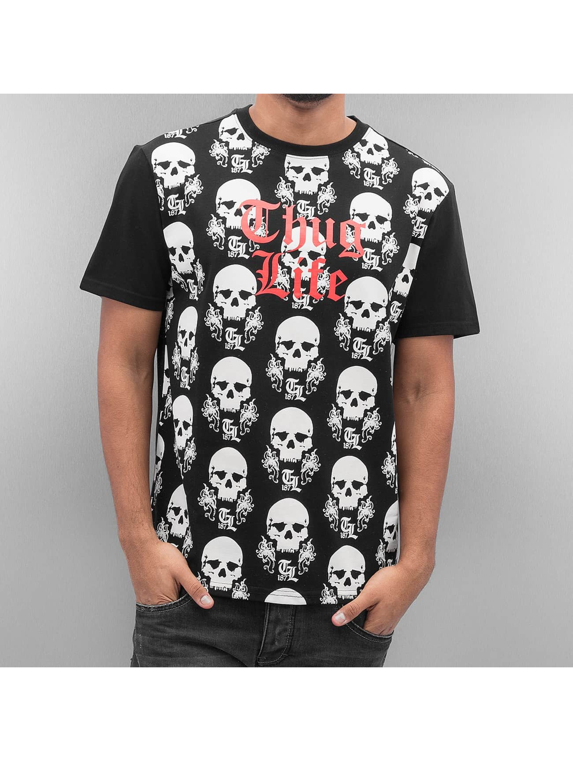Thug Life T-Shirt Icelist schwarz