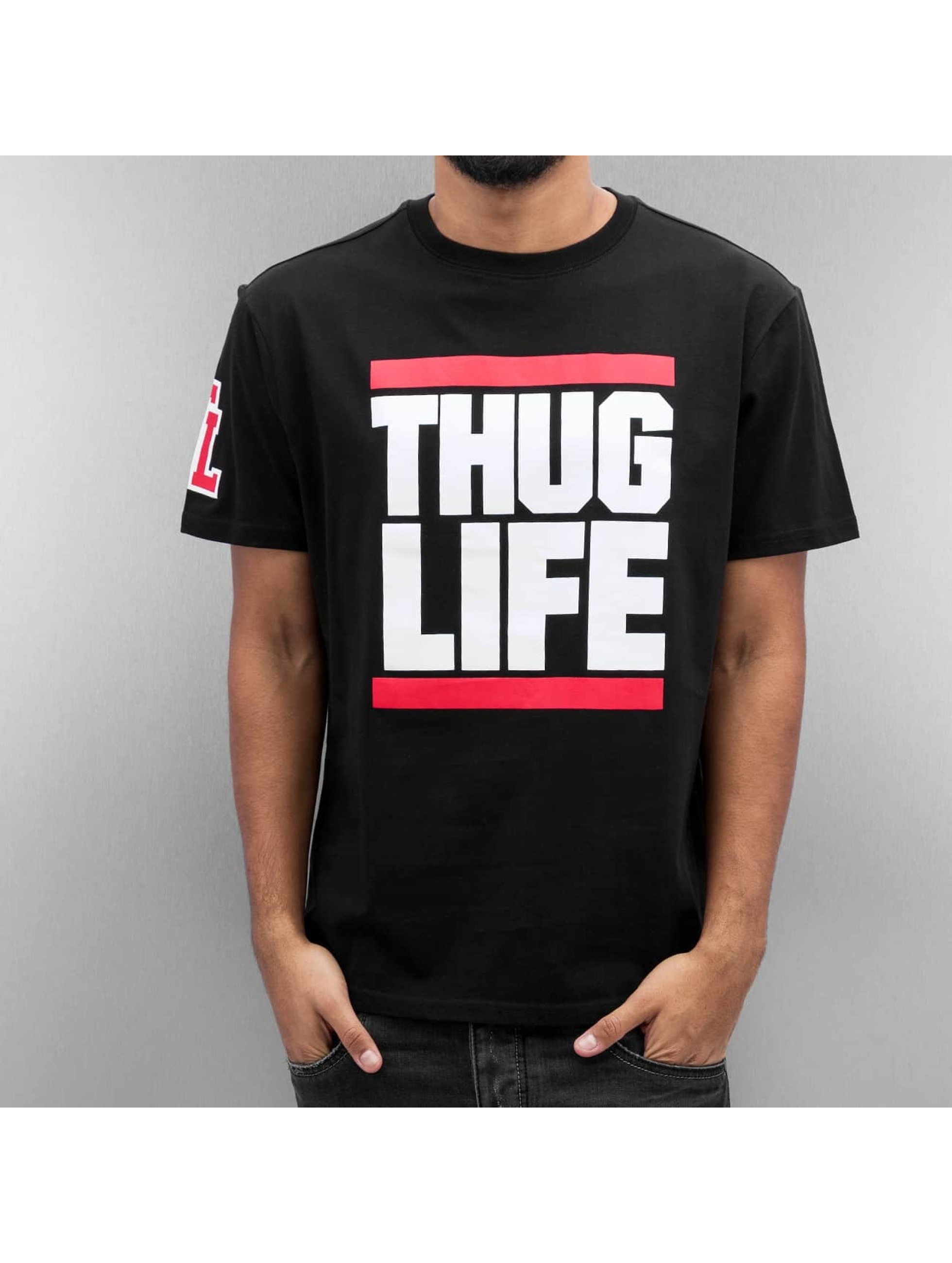 Thug Life T-Shirt Bigfight schwarz