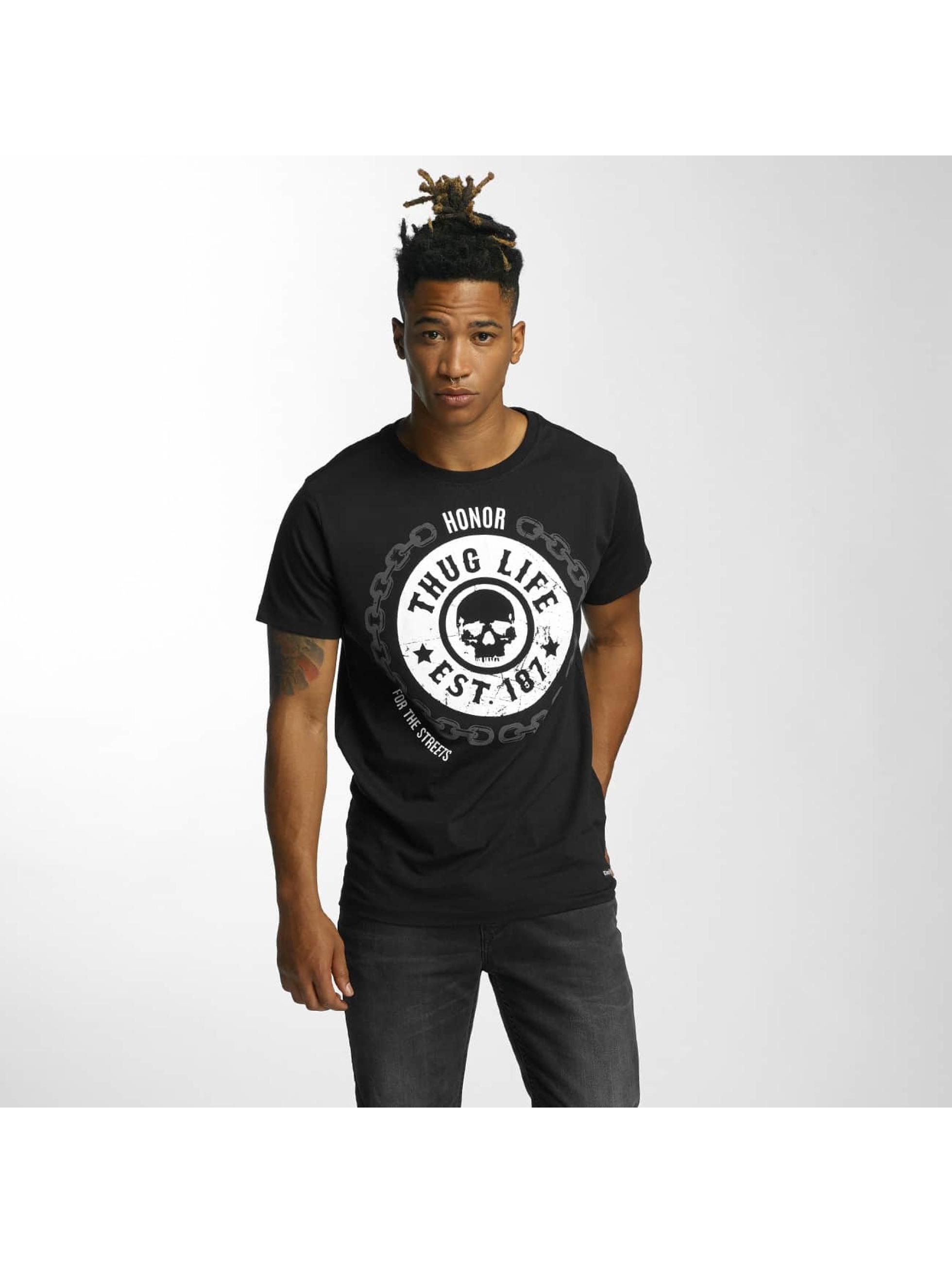 Thug Life T-Shirt Barley schwarz