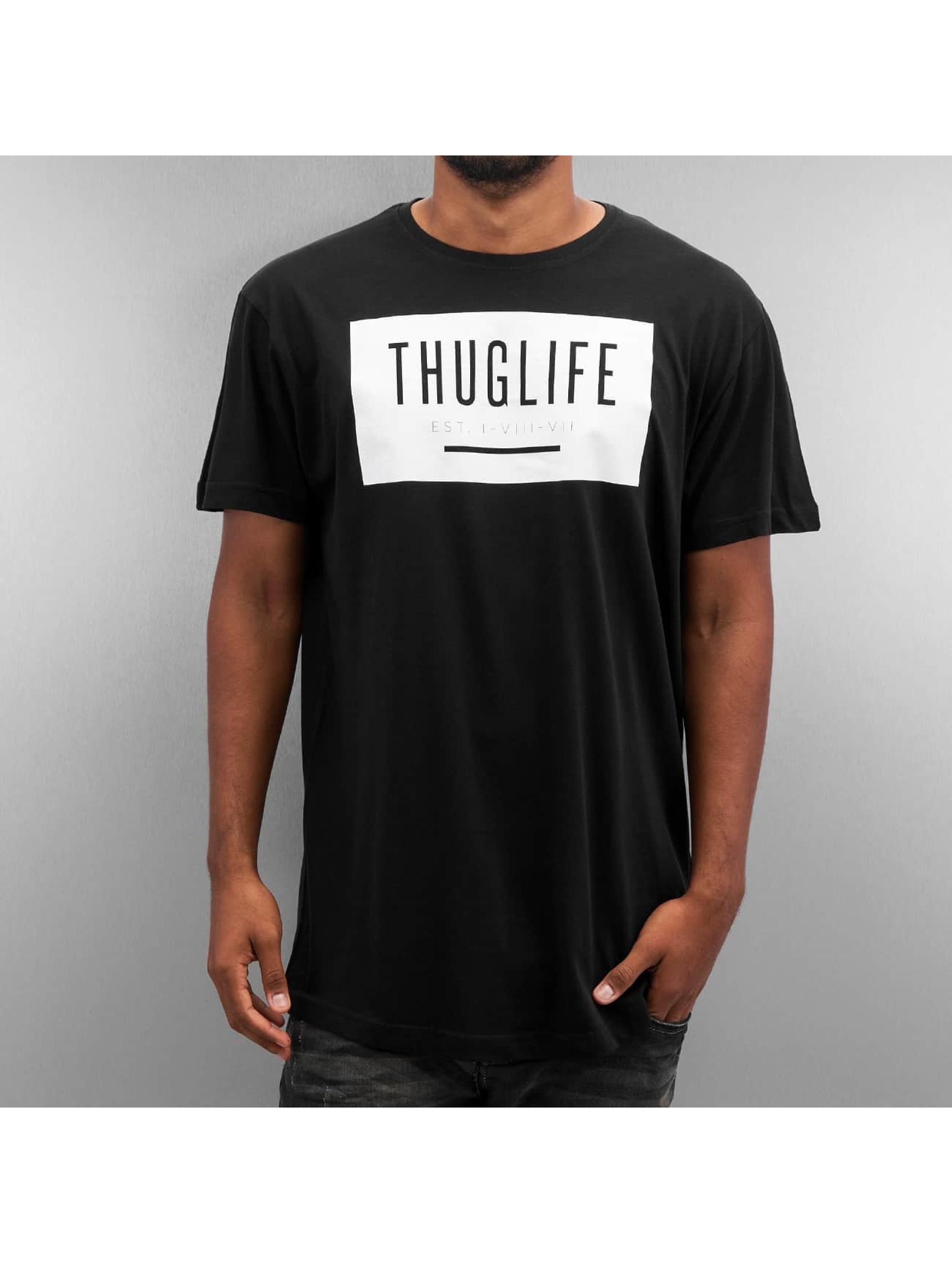 Thug Life T-shirt Basic svart