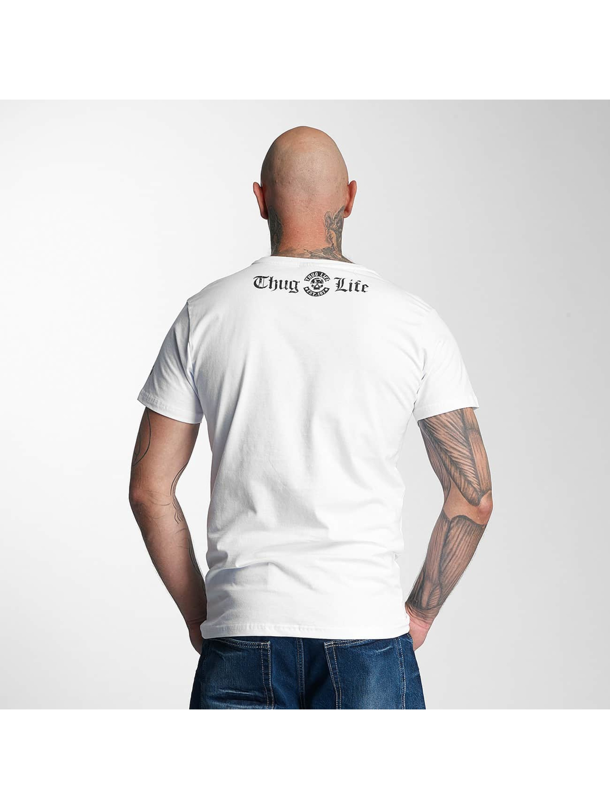 Thug Life T-Shirt no reason white