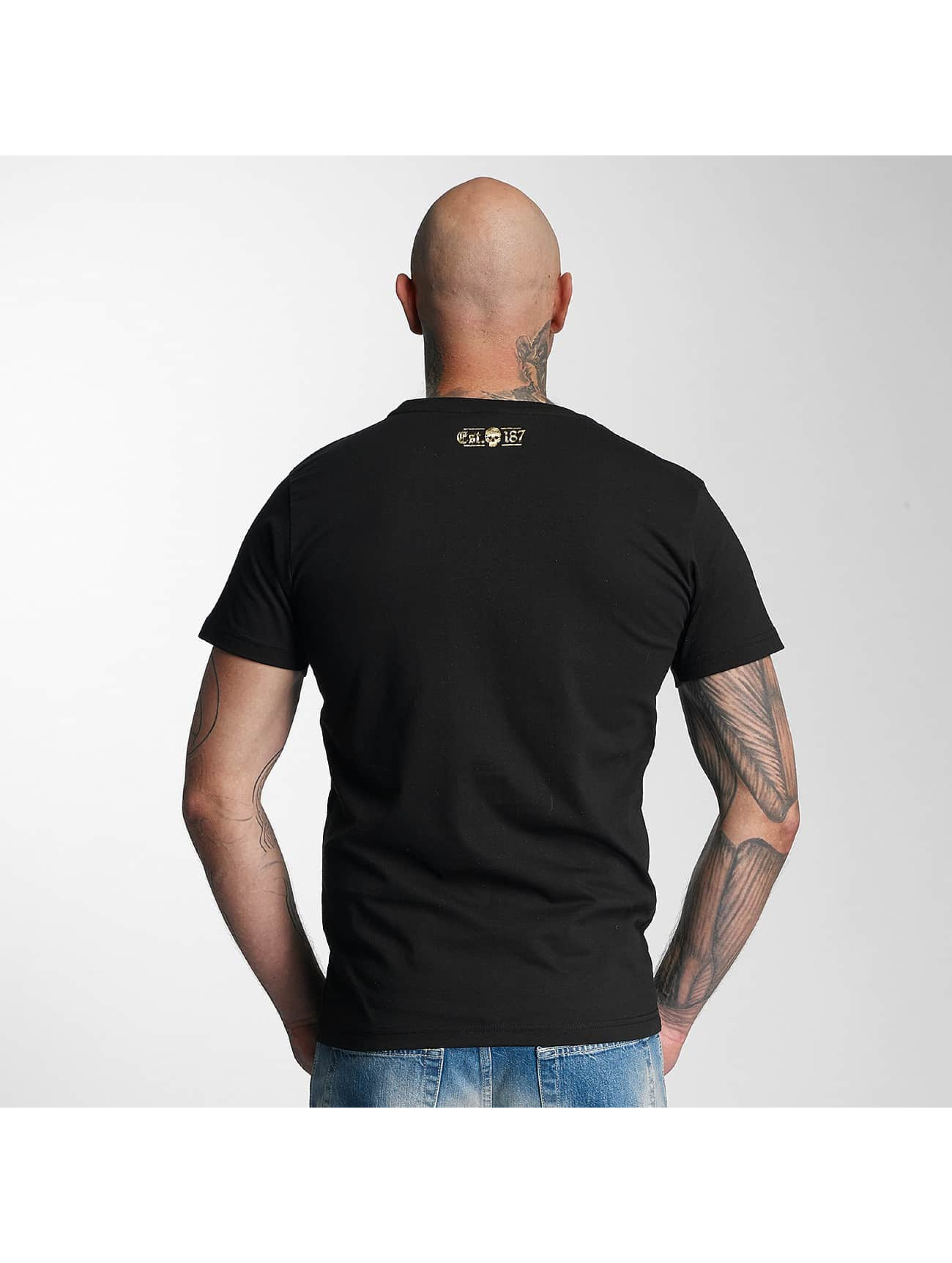 Thug Life T-Shirty Celebrate czarny
