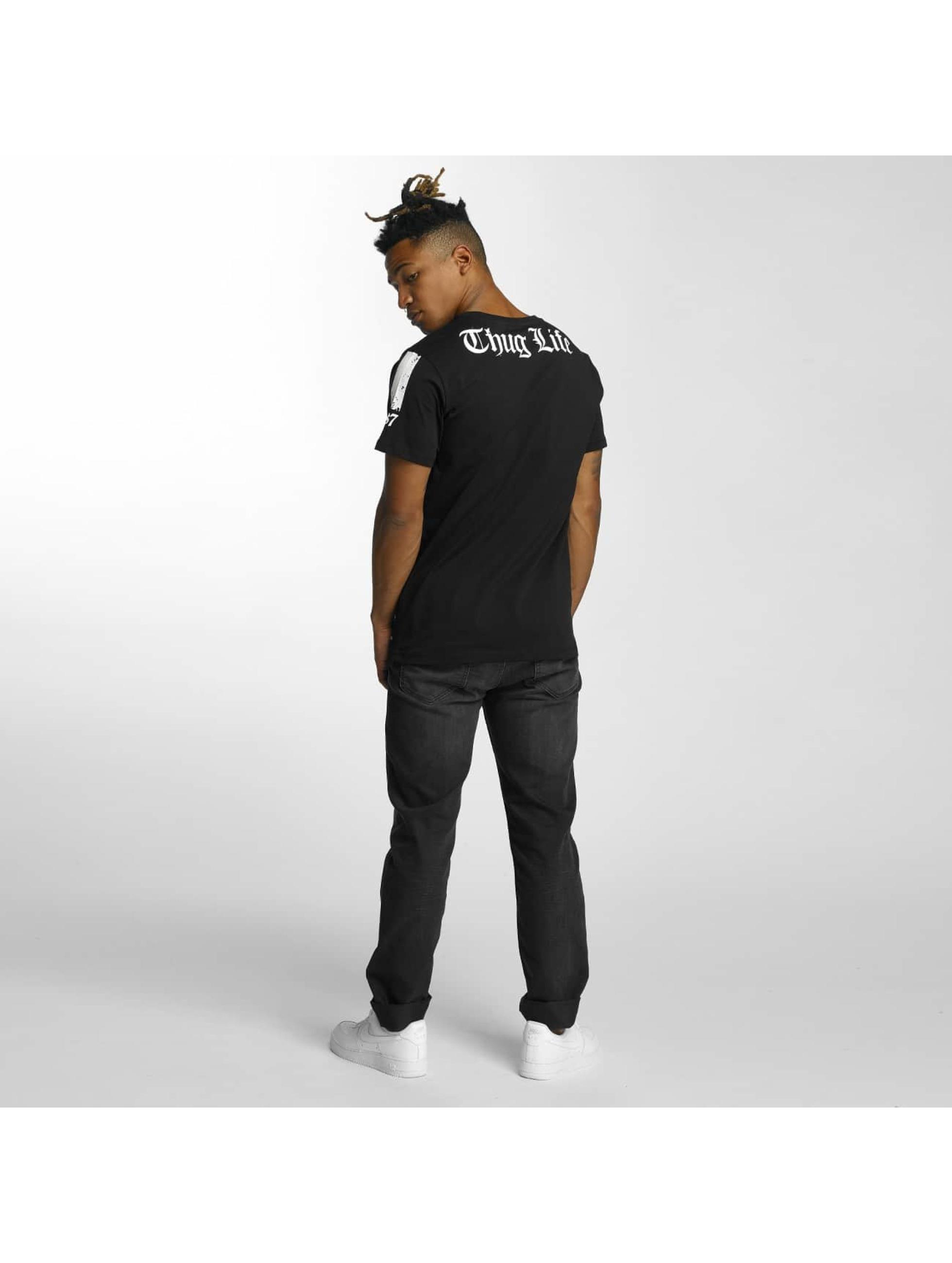 Thug Life T-Shirty Blind czarny