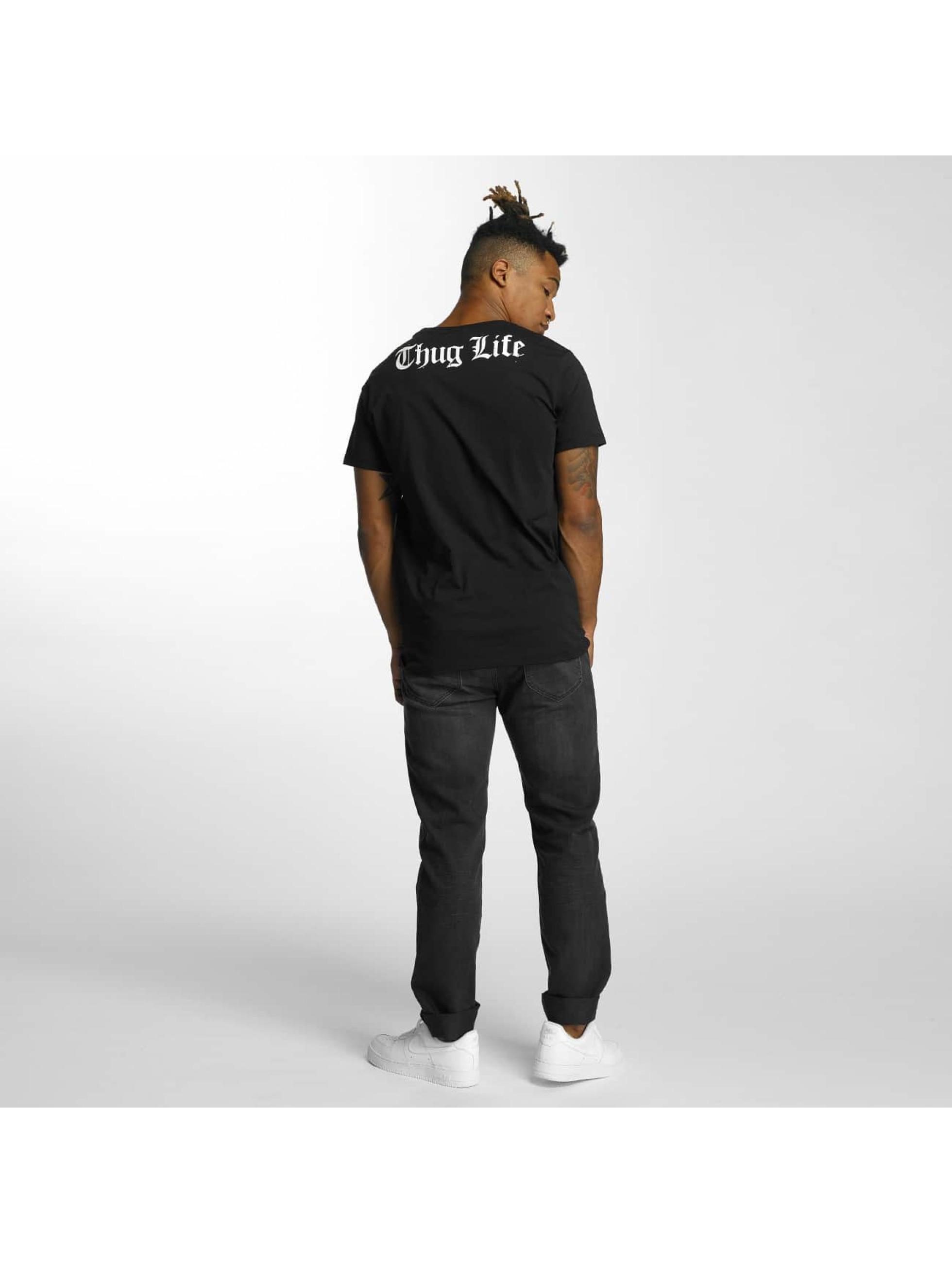 Thug Life T-Shirty Barley czarny