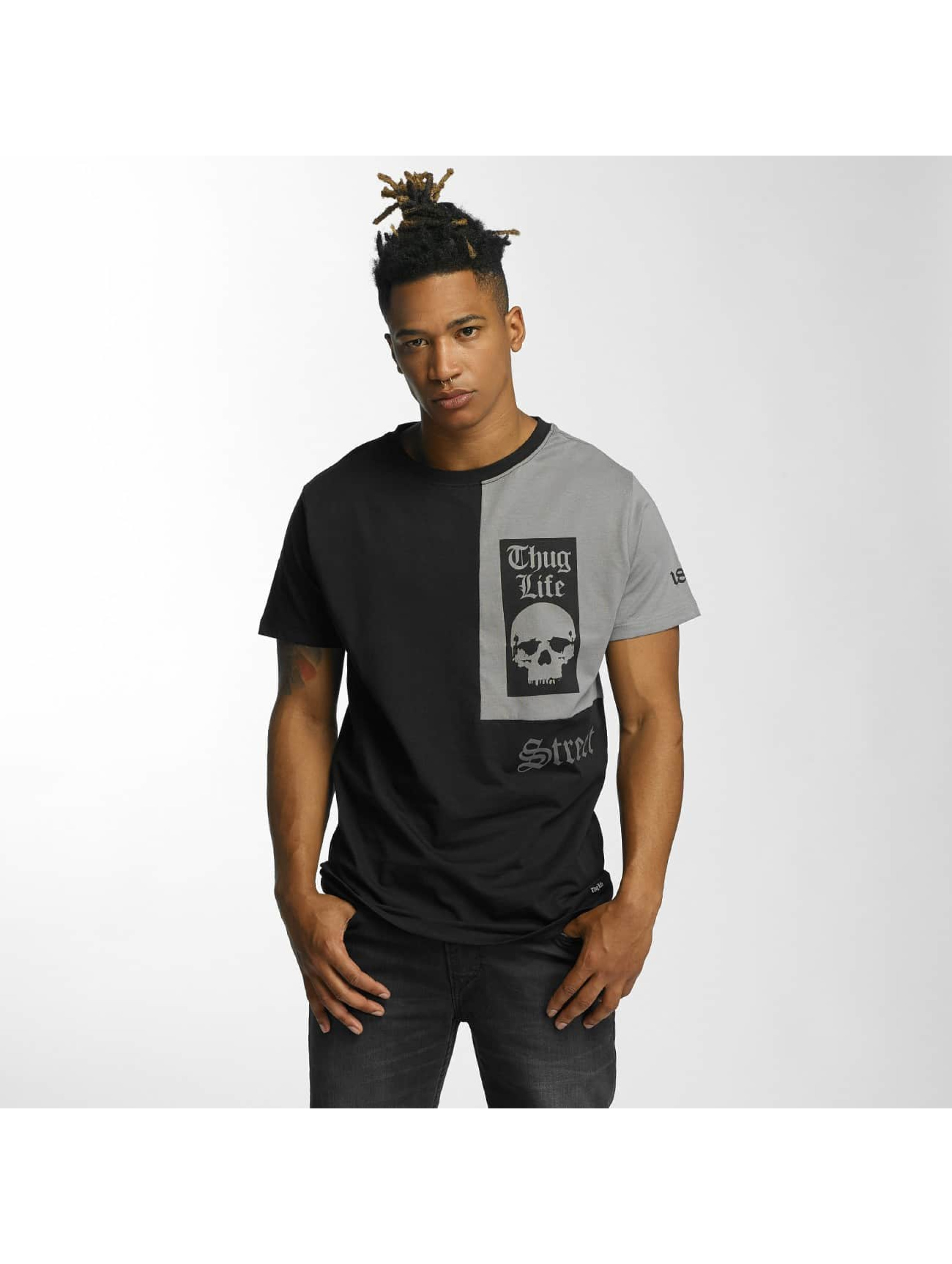Thug Life T-Shirty Qube czarny