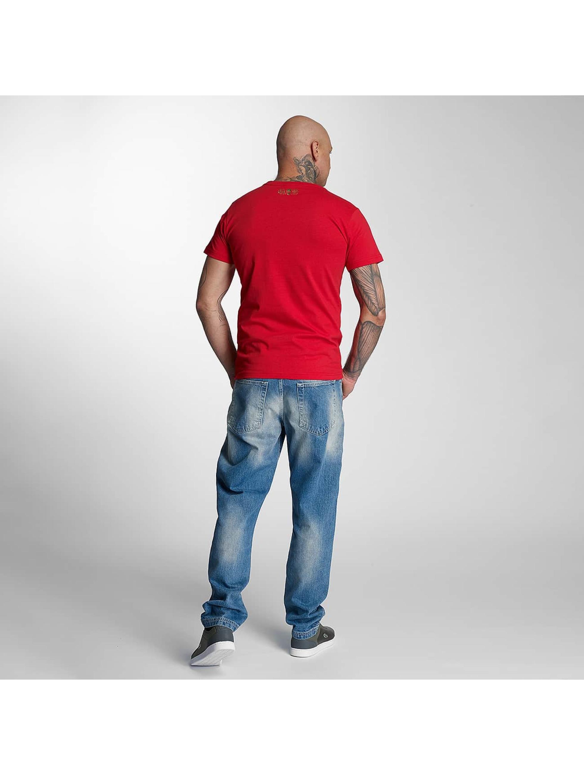 Thug Life T-Shirty Celebrate czerwony