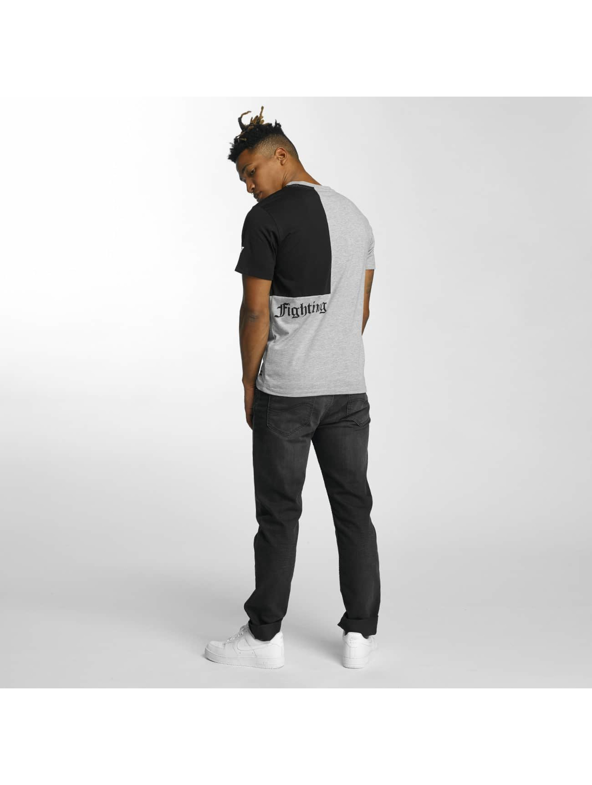 Thug Life T-Shirty Qube szary