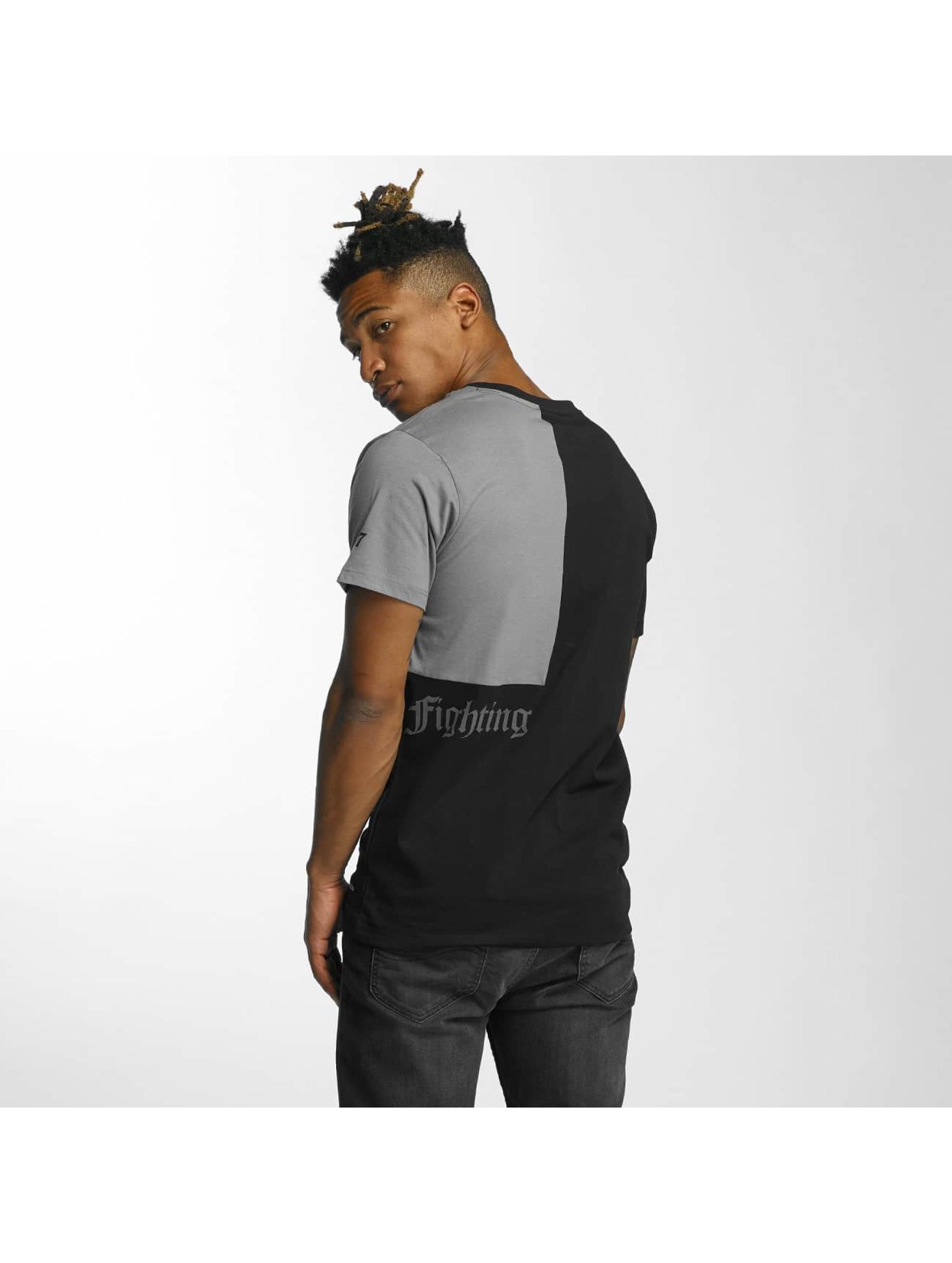 Thug Life T-skjorter Qube svart