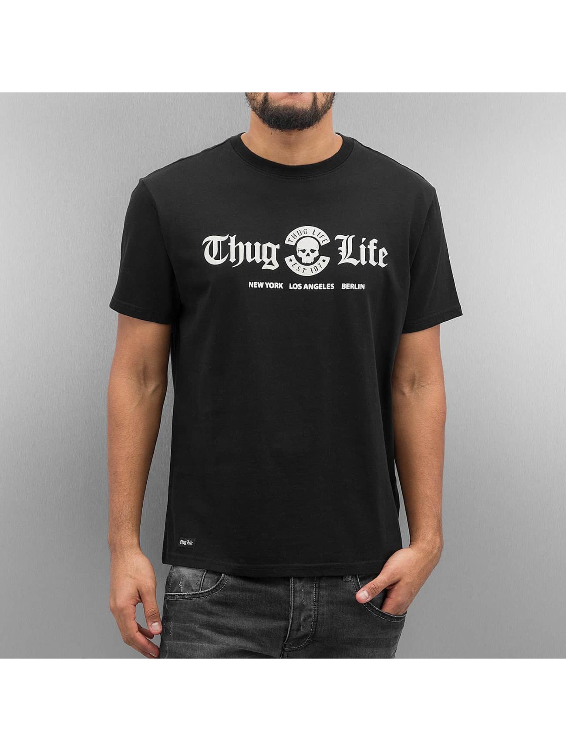 Thug Life Tričká Rule èierna