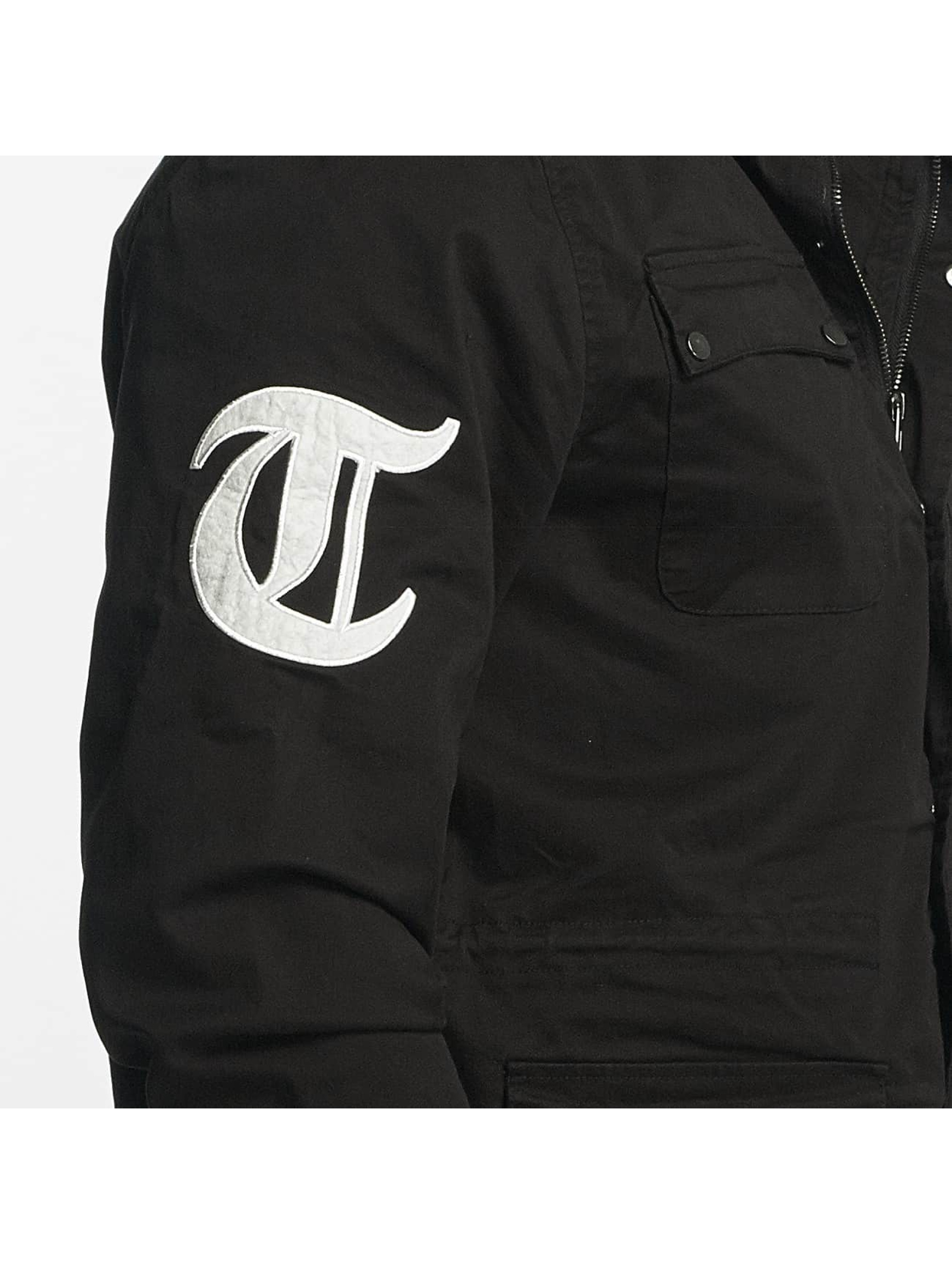 Thug Life Übergangsjacke 187 schwarz