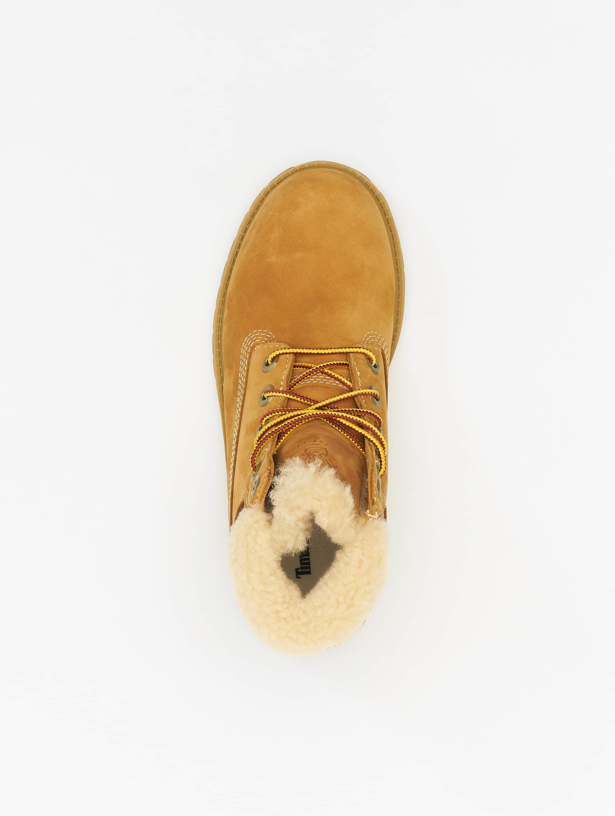 Timberland Boots 6 In Premium Waterproof Shearling Lined beige