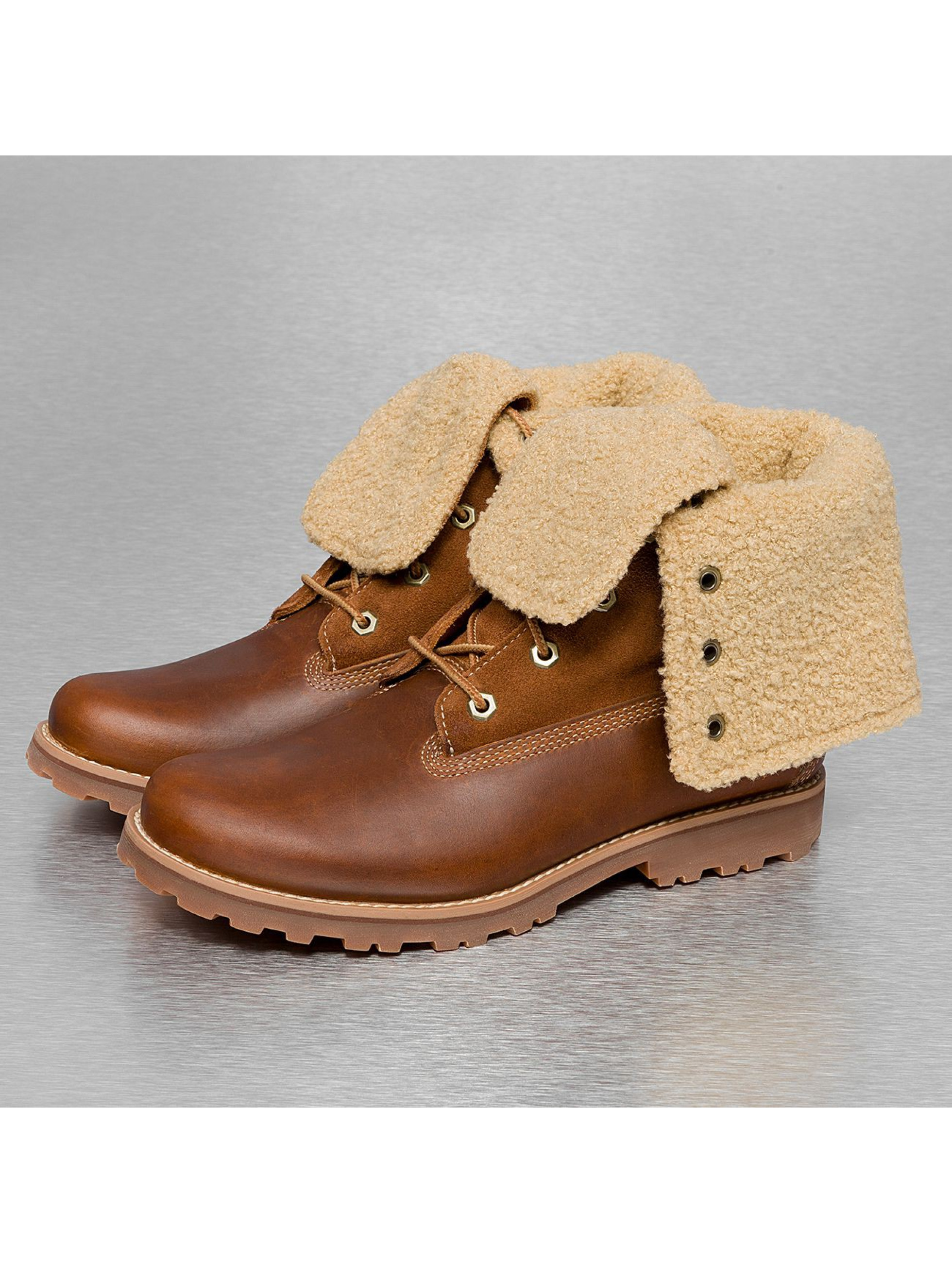 Timberland Boots Authentics 6 In Shearling bruin