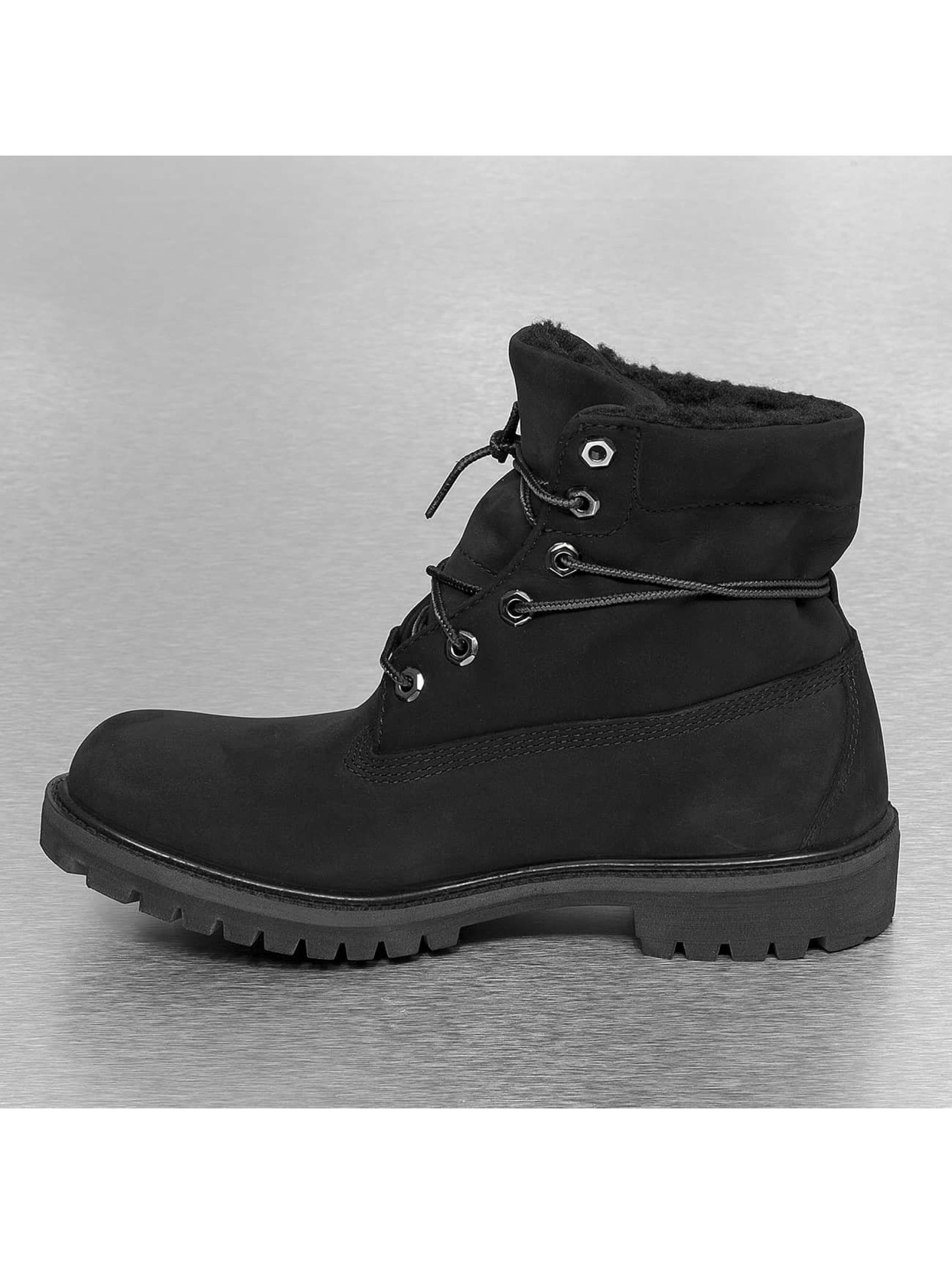 timberland herren boots af roll top in schwarz 186463. Black Bedroom Furniture Sets. Home Design Ideas