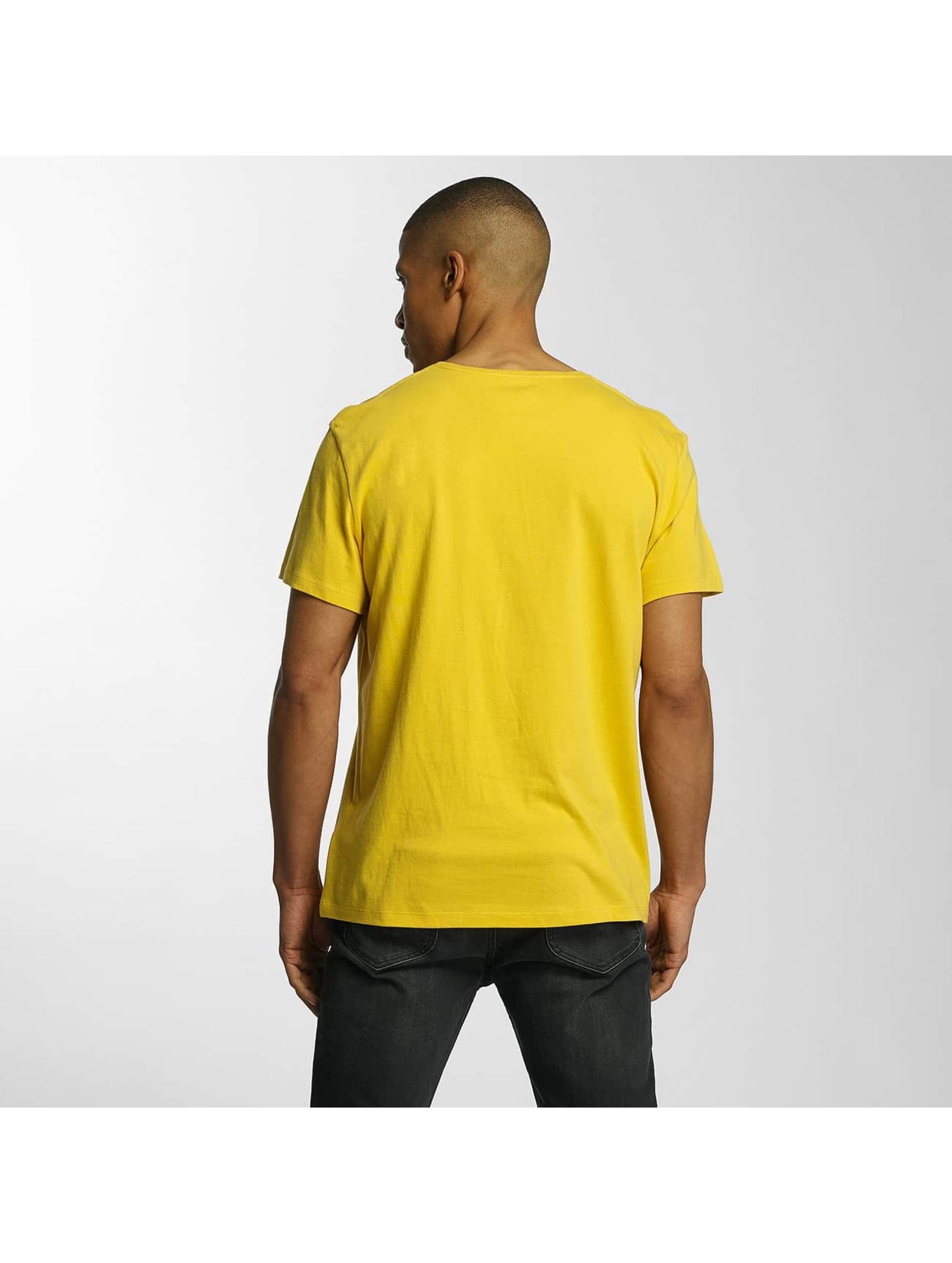 Timberland Camiseta Big Logo amarillo