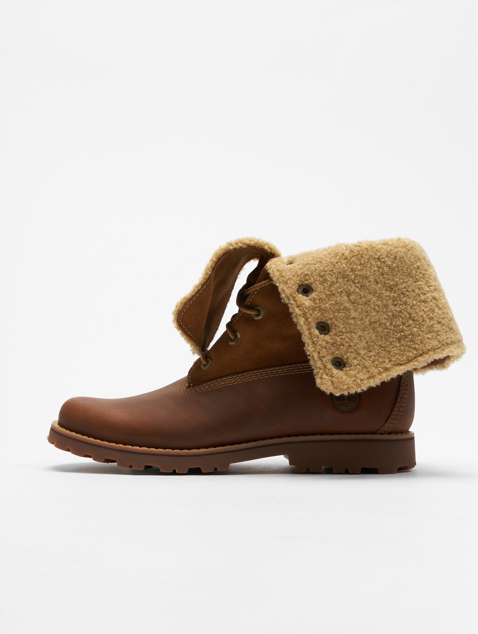 Timberland Authentics 6 In Shearling brun Chaussures montantes femme