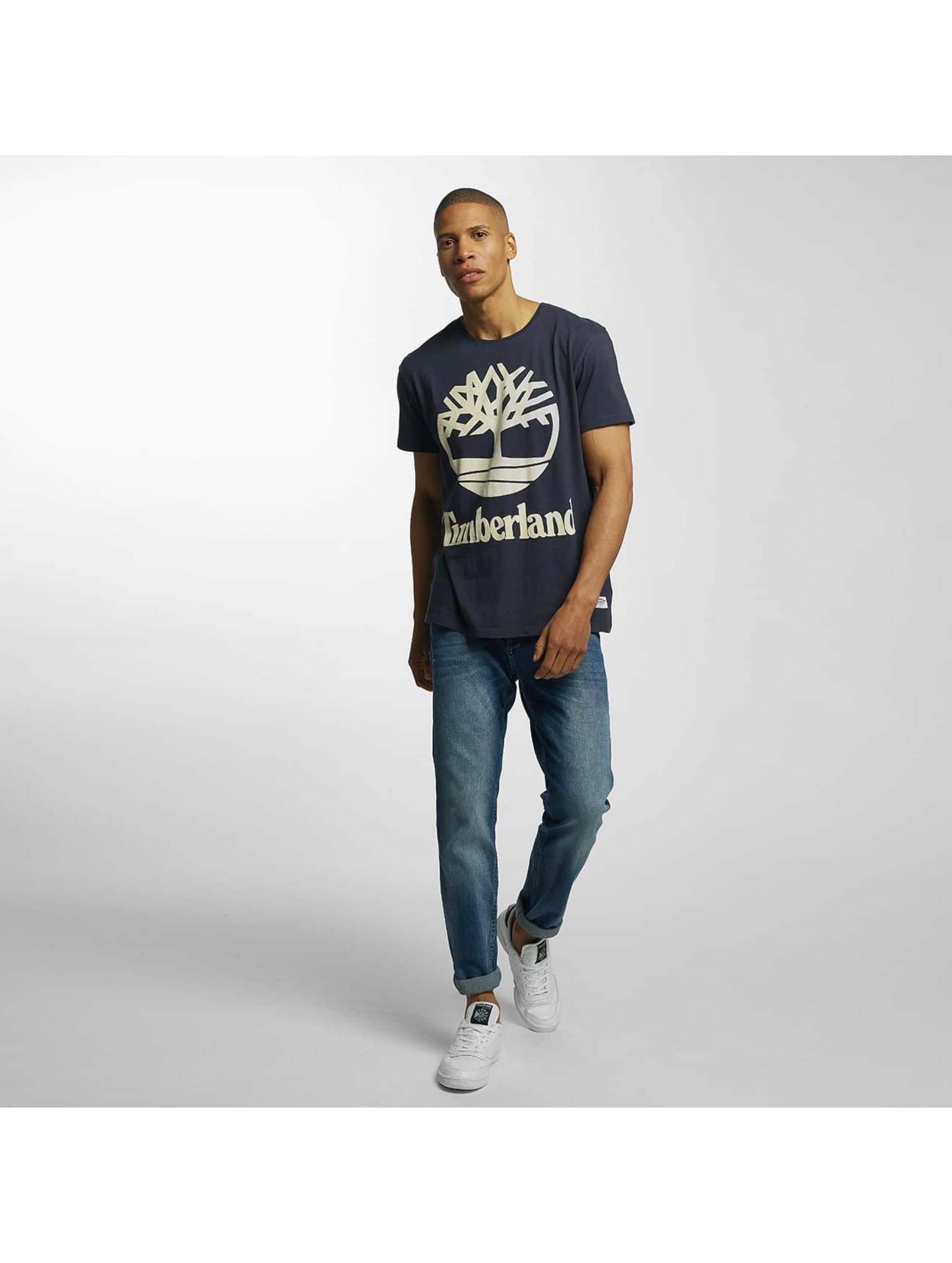 Timberland T-Shirt Big Logo gris