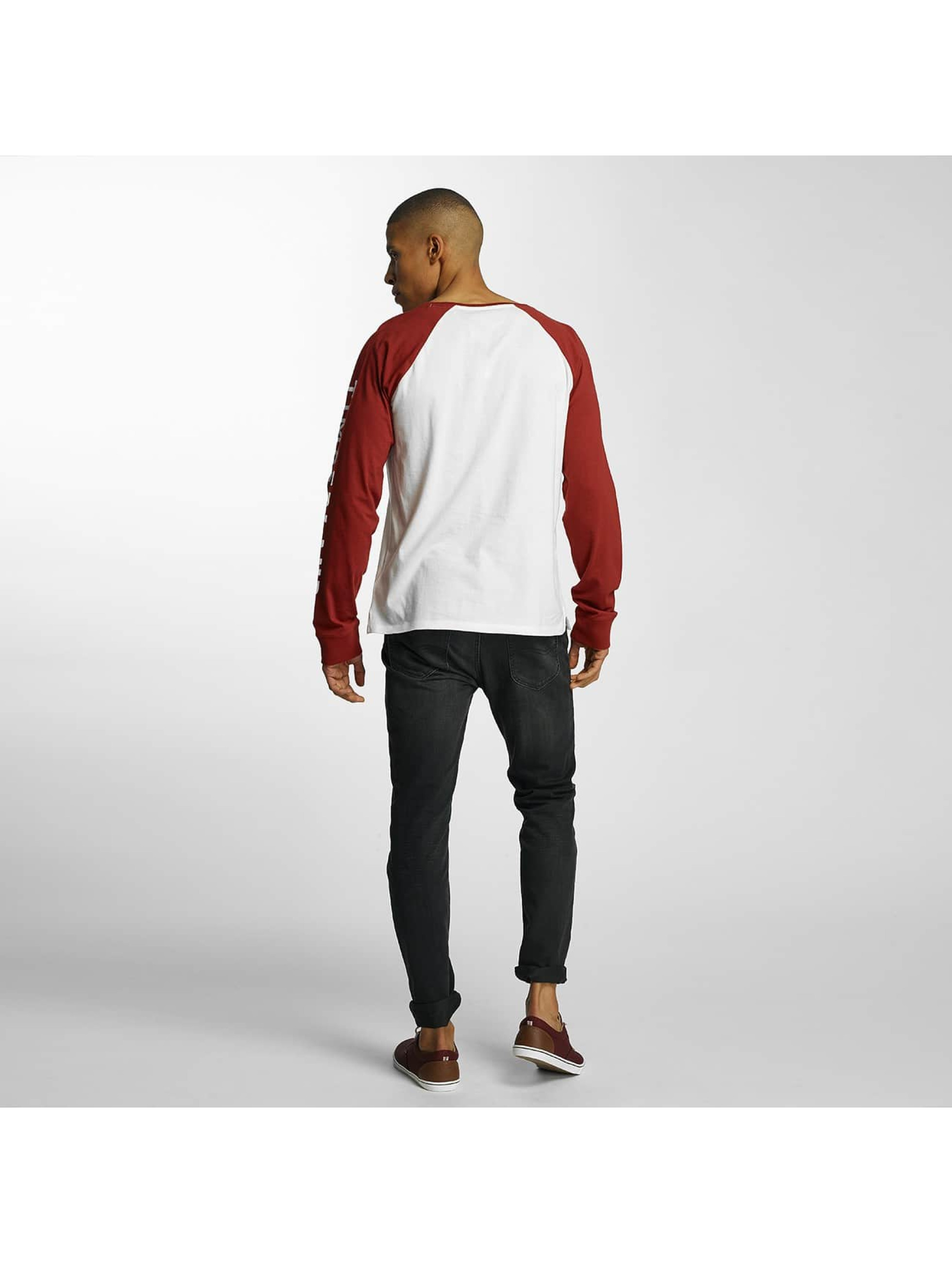 Timberland T-Shirt manches longues Pattern Treelogg rouge