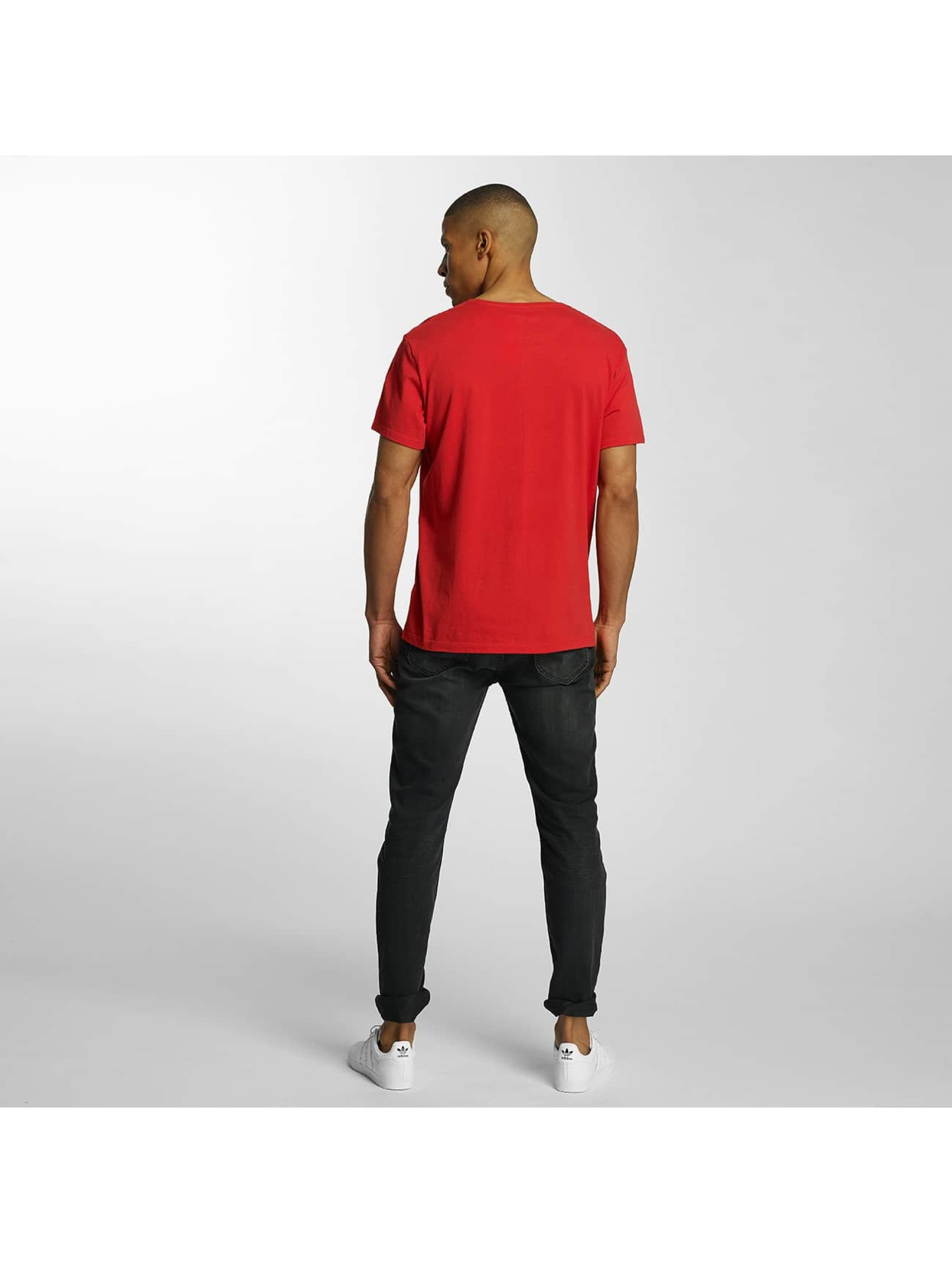 Timberland T-shirt Lin Logo rosso