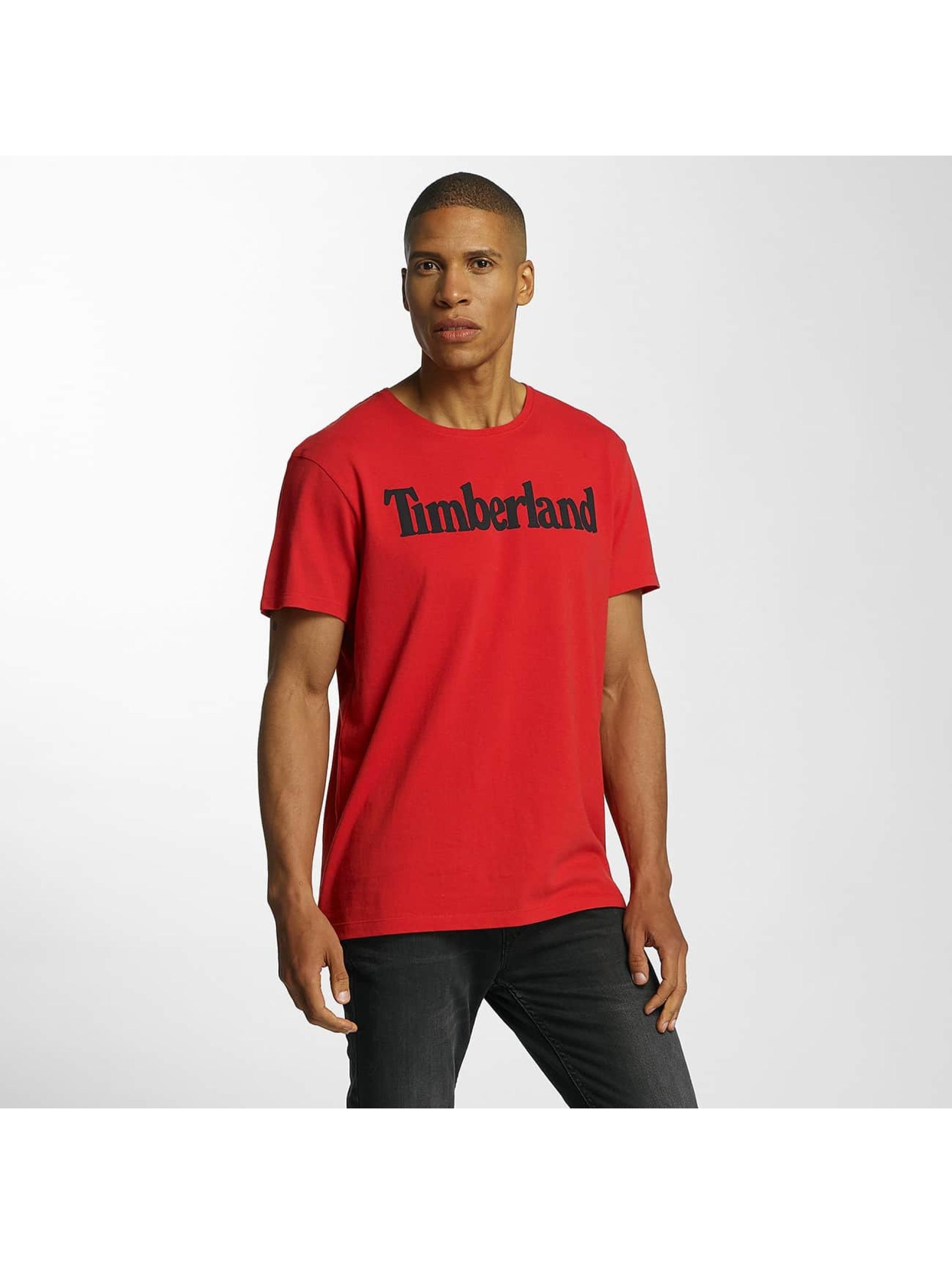 Timberland T-shirts Lin Logo rød
