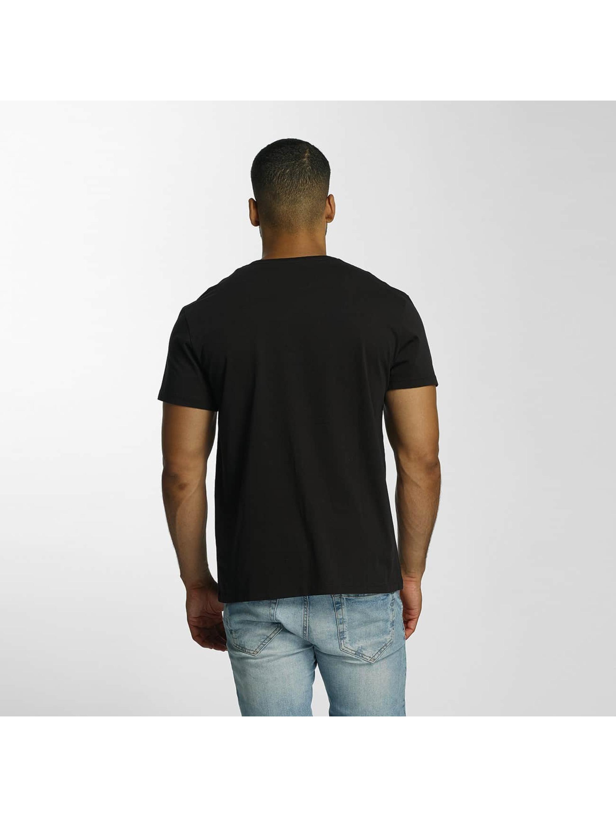 Timberland T-Shirty Dustan River Camo Print Brand czarny