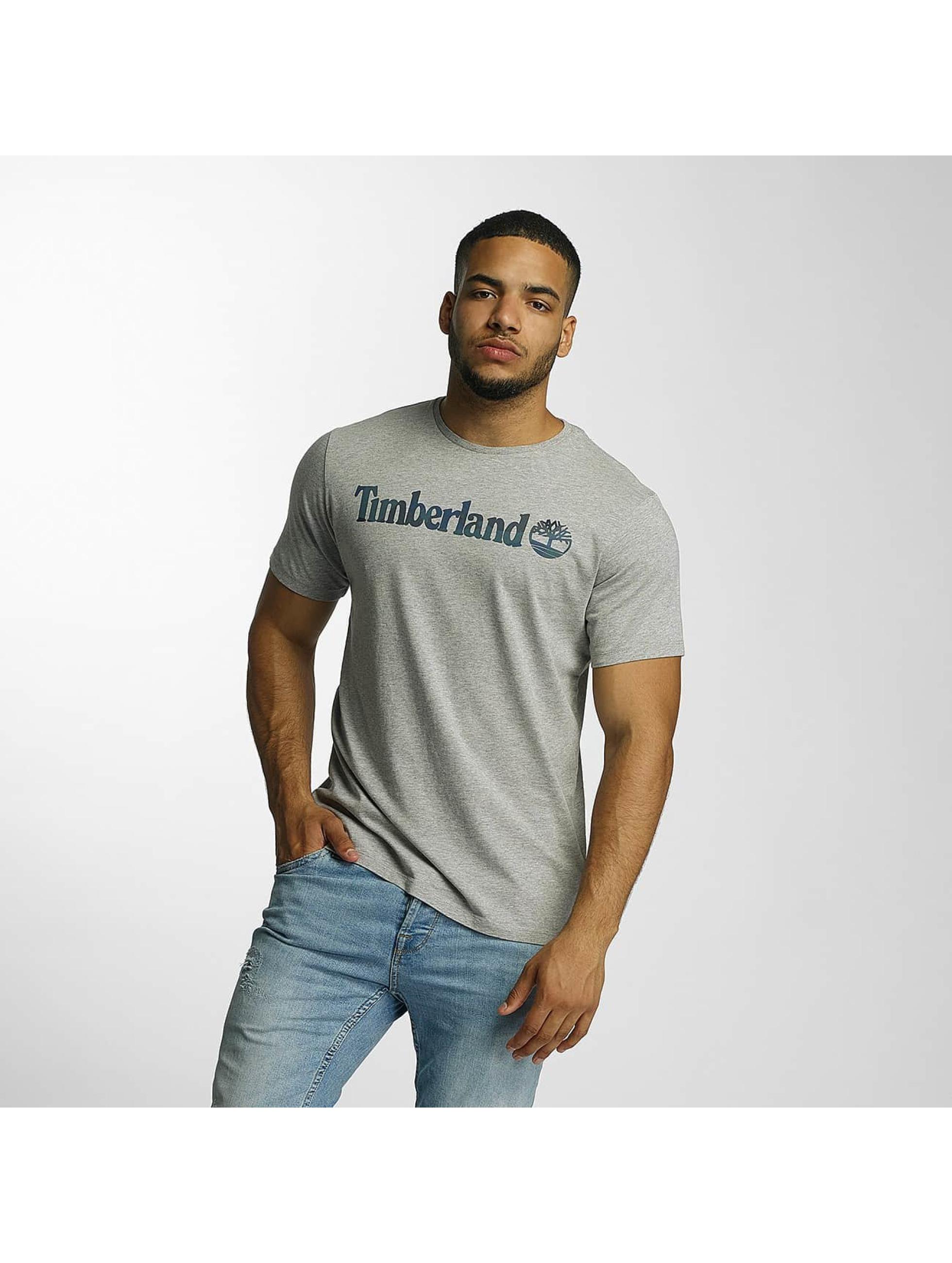 Timberland T-skjorter Dustan River Camo Print grå