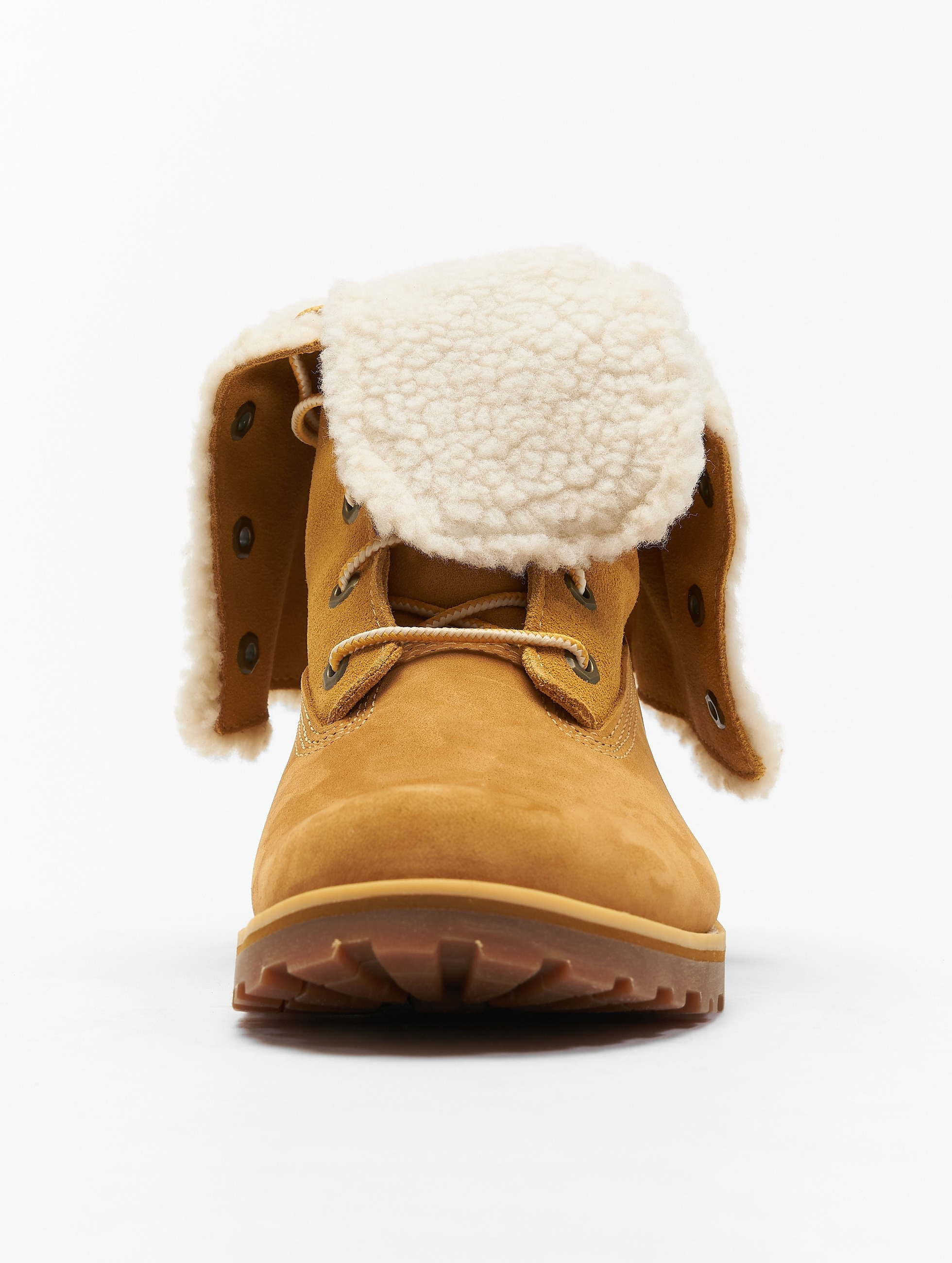 Timberland Vapaa-ajan kengät 6 Inch Waterproof Shearling beige