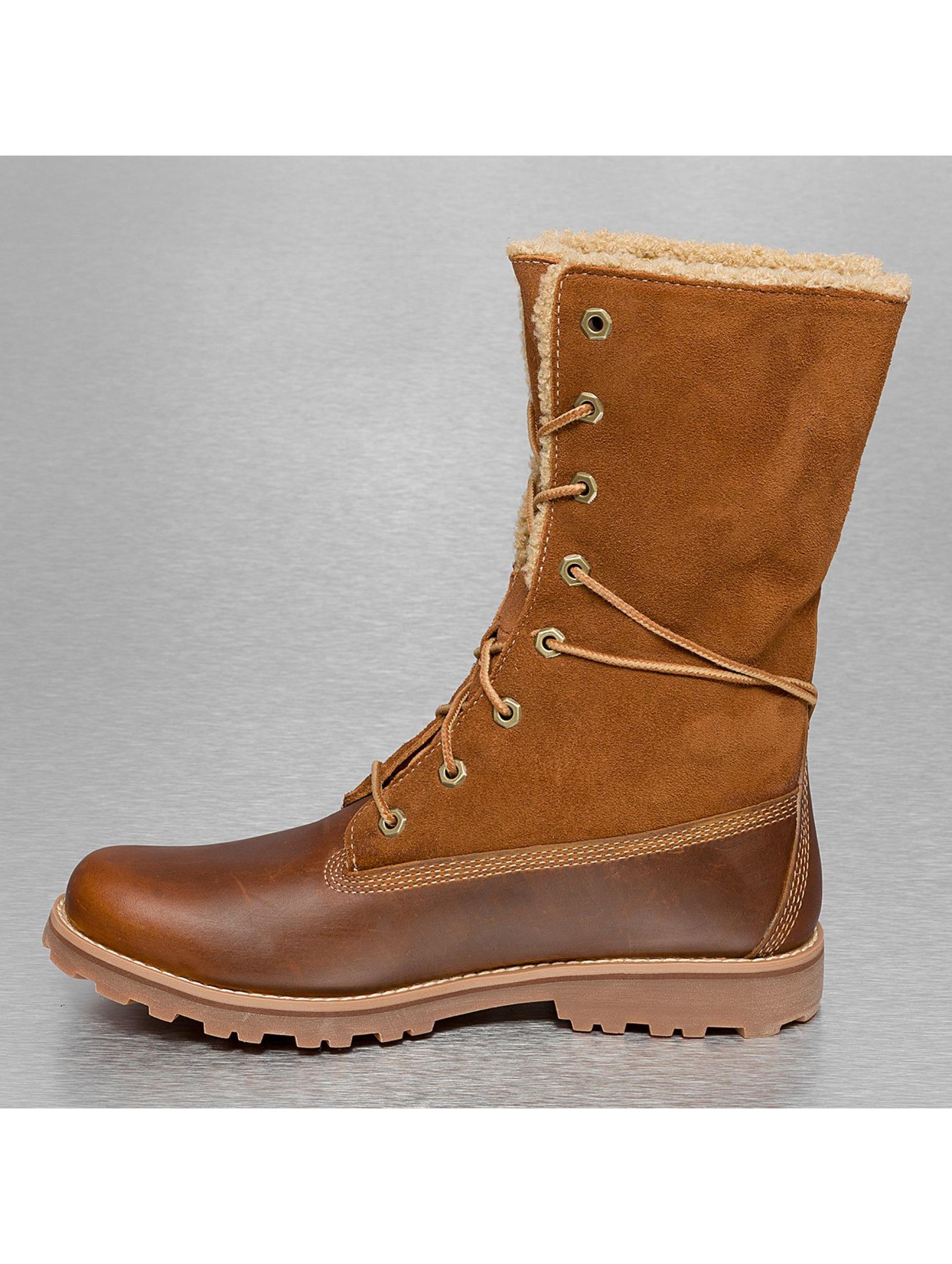Timberland Vapaa-ajan kengät Authentics 6 In Shearling ruskea