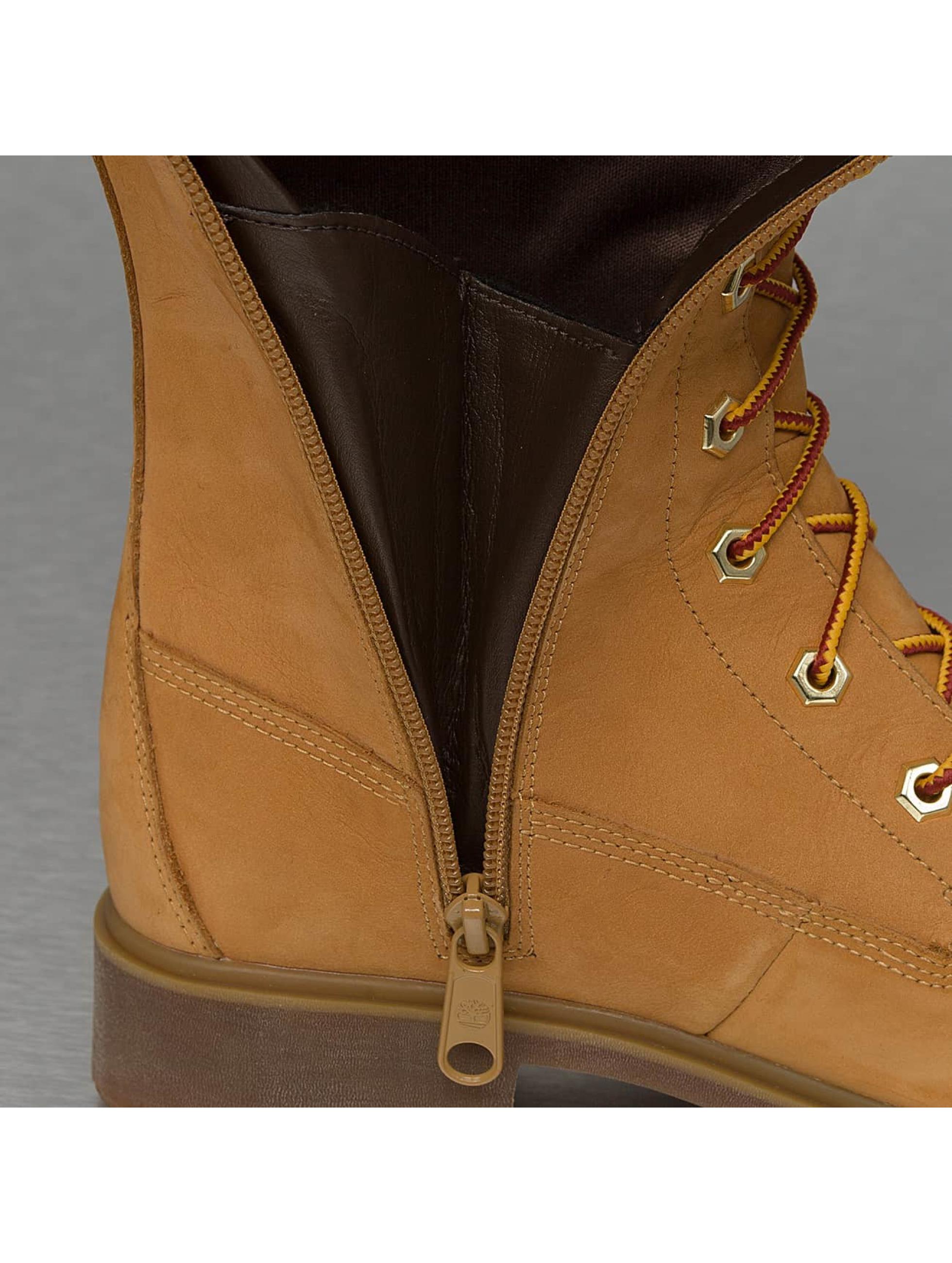 Timberland Women Boots Earthkeepers Premium 14 Inch Zip beige