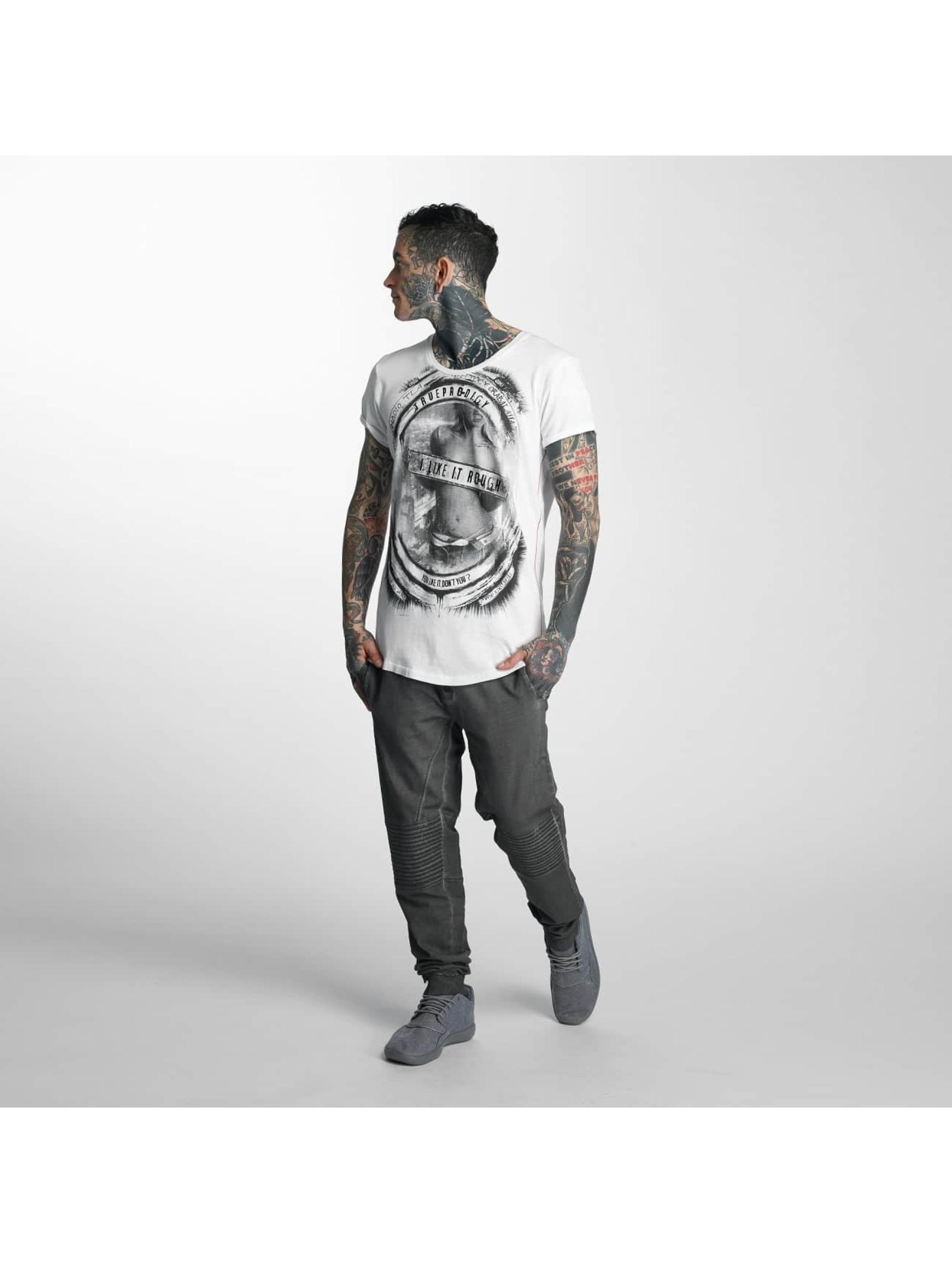 trueprodigy Camiseta Like It Rough blanco