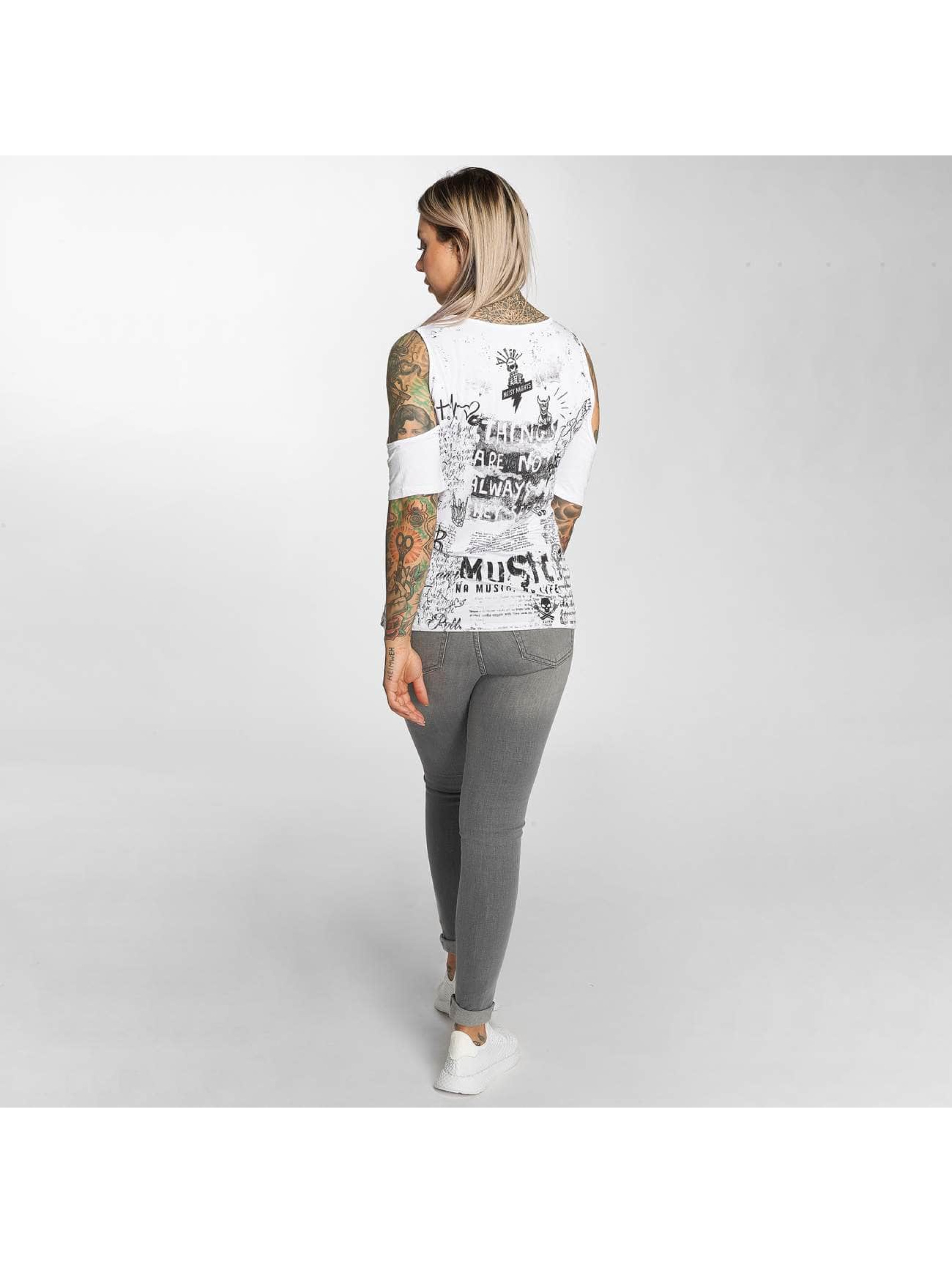 trueprodigy Camiseta Kristin blanco