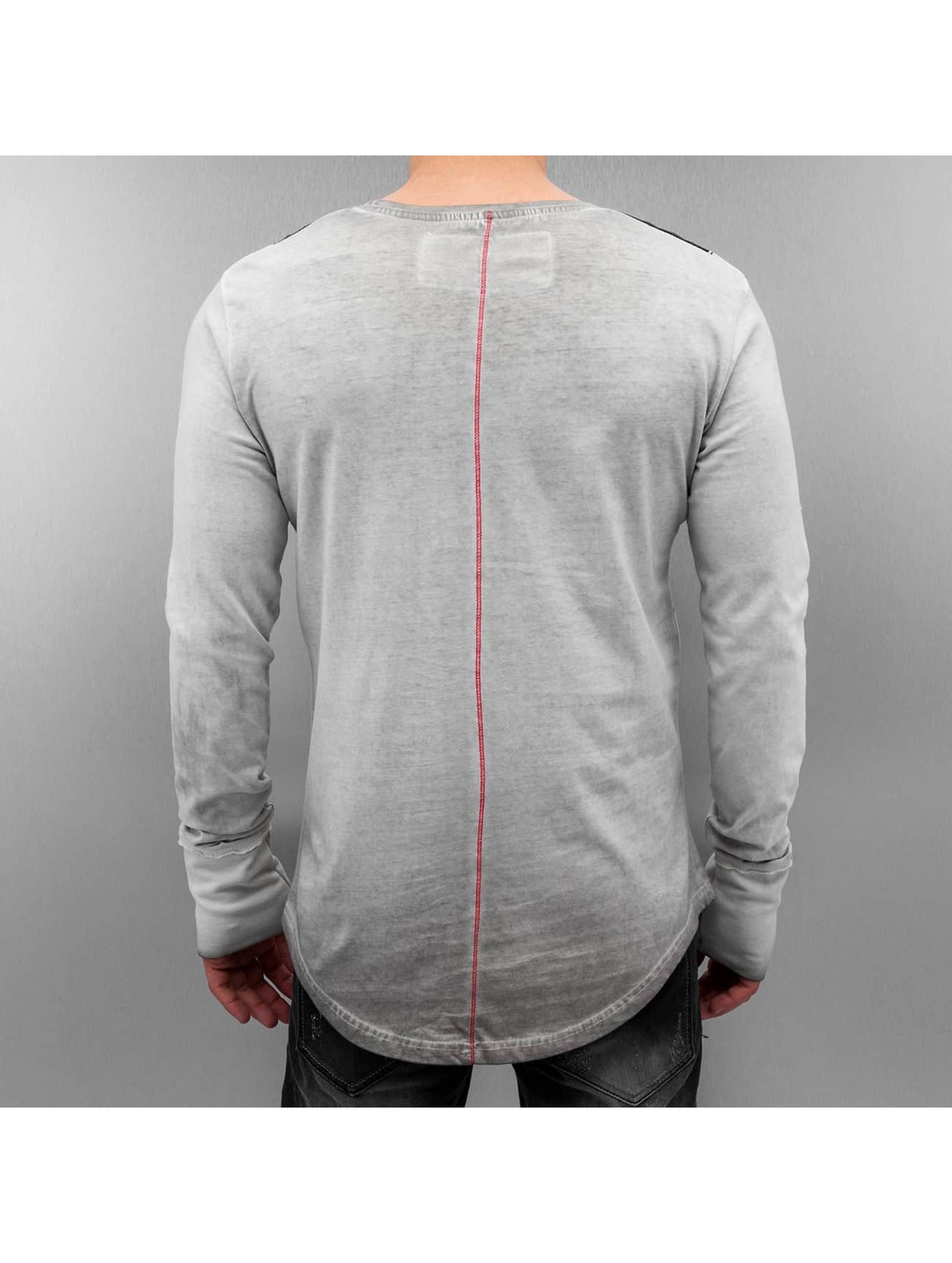 trueprodigy Camiseta de manga larga Bang gris