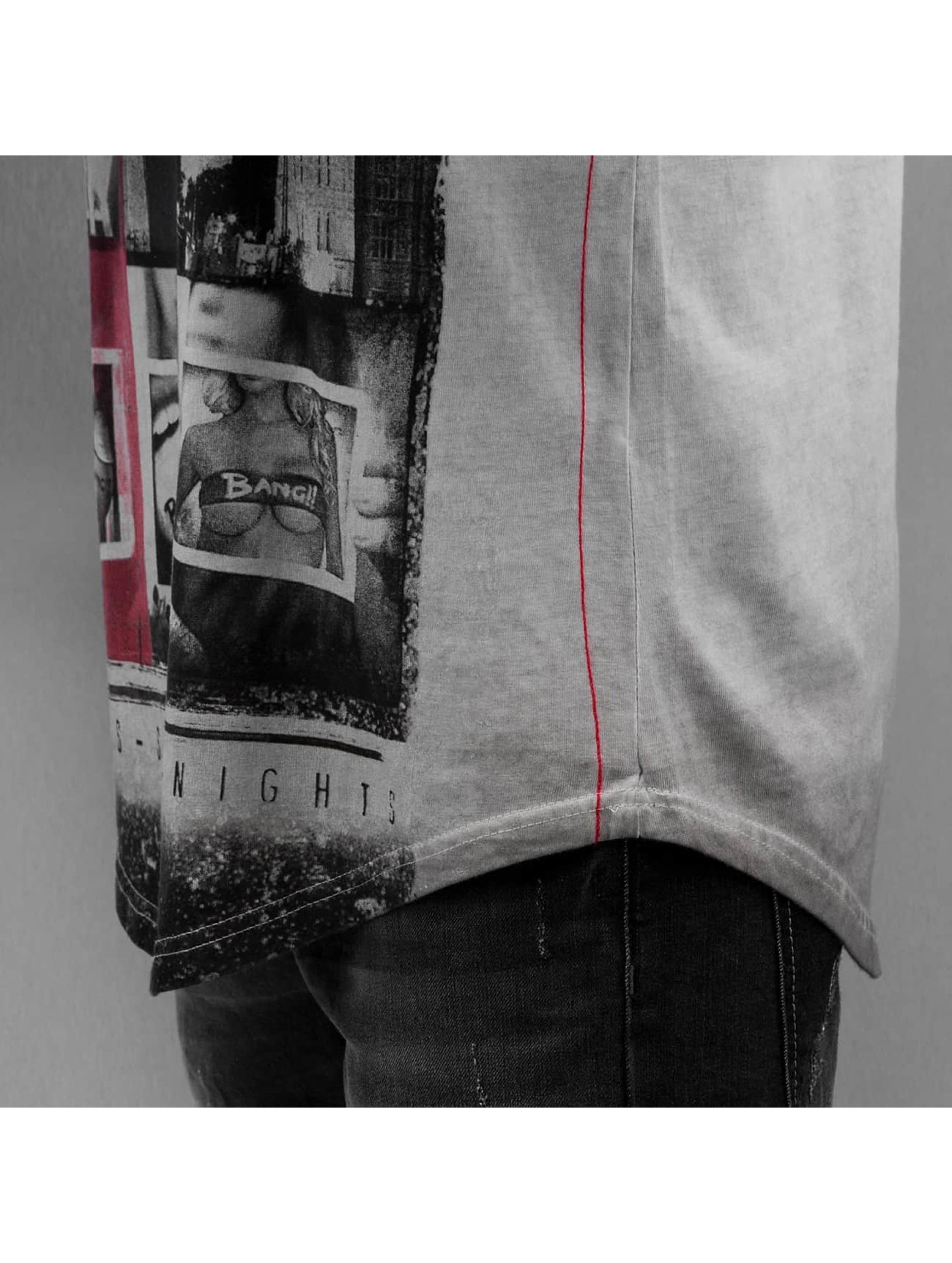 trueprodigy Maglietta a manica lunga Bang grigio