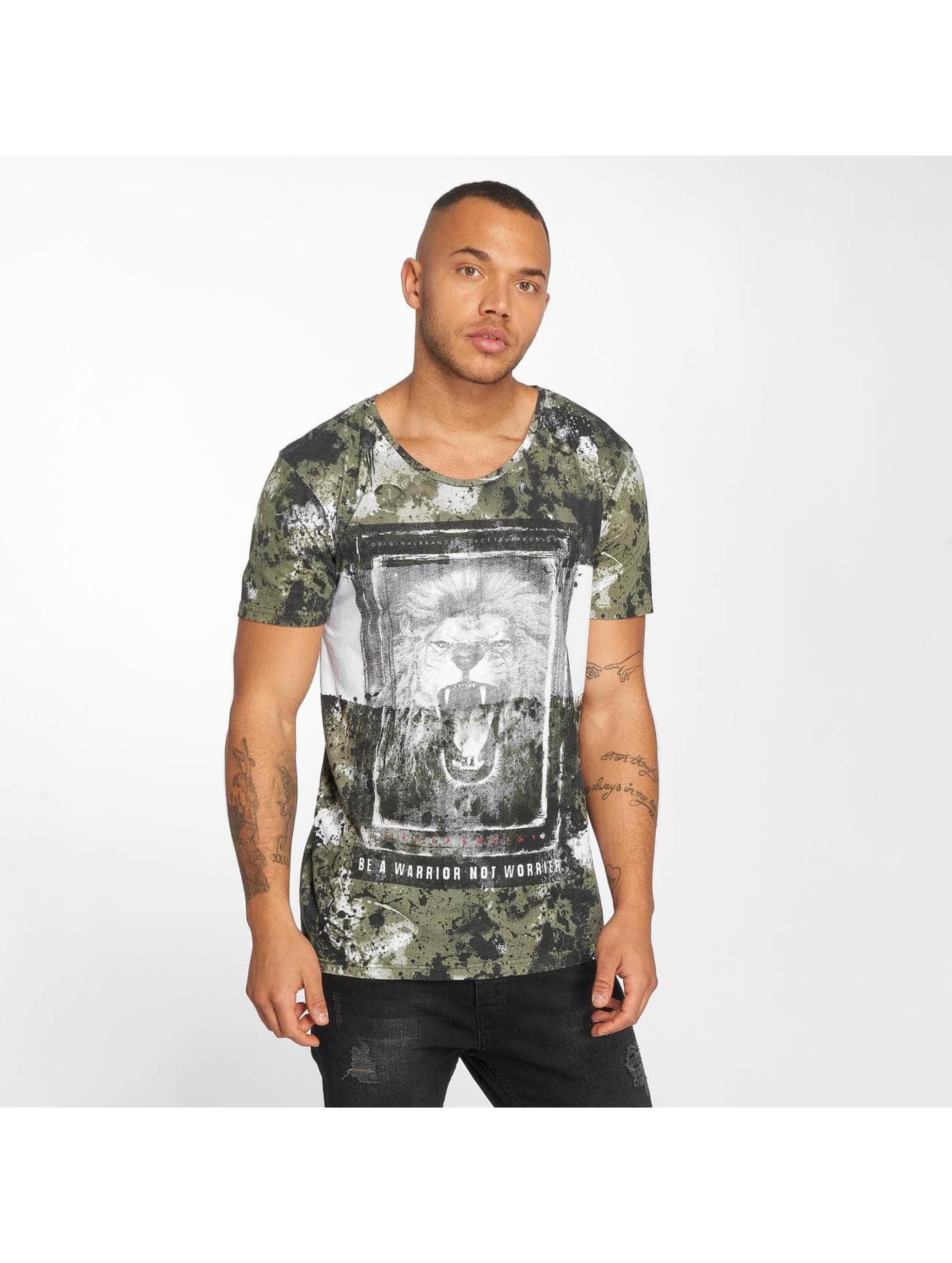 trueprodigy T-paidat Lion khakiruskea