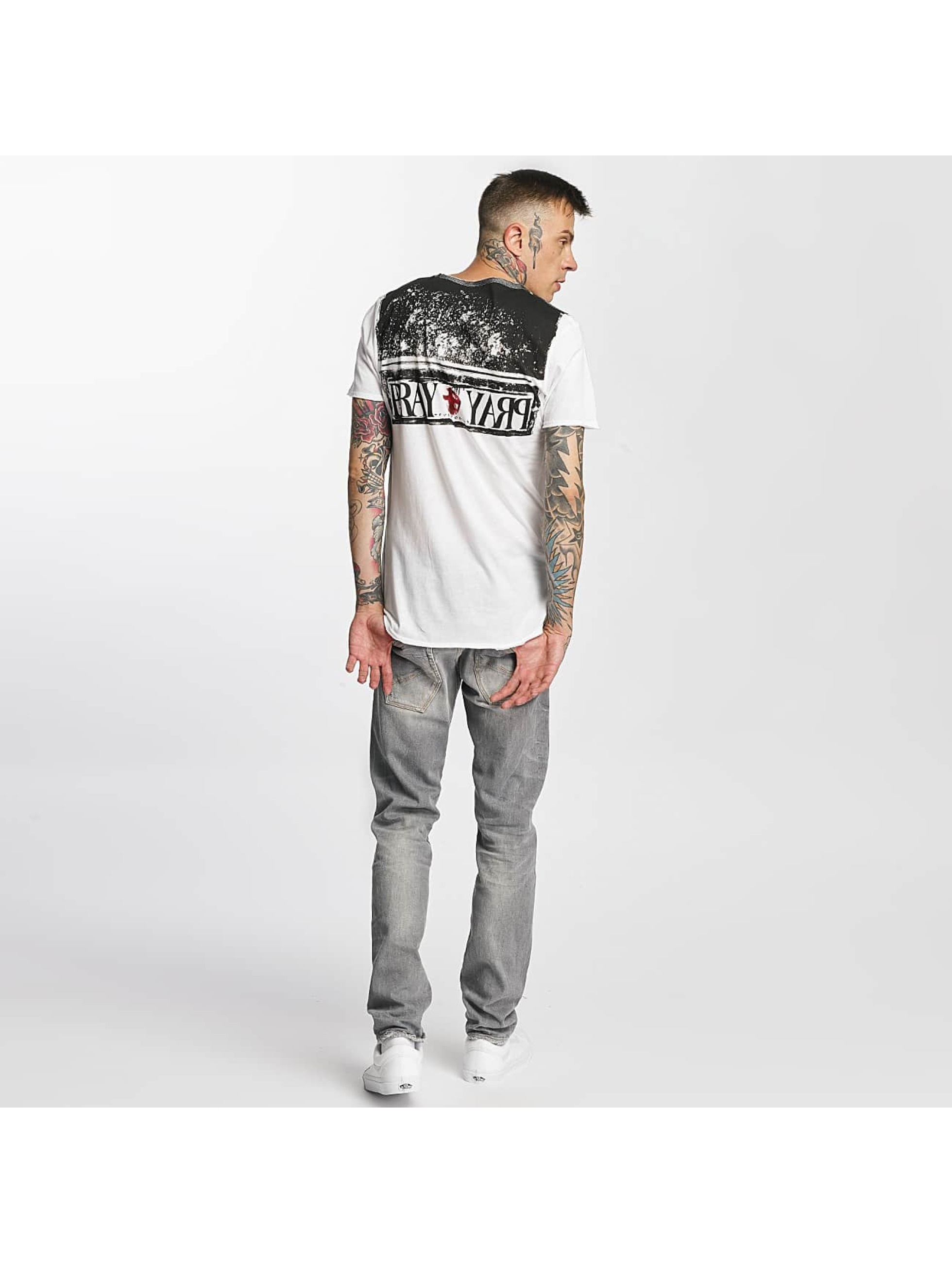 trueprodigy T-shirt Time To Pray bianco